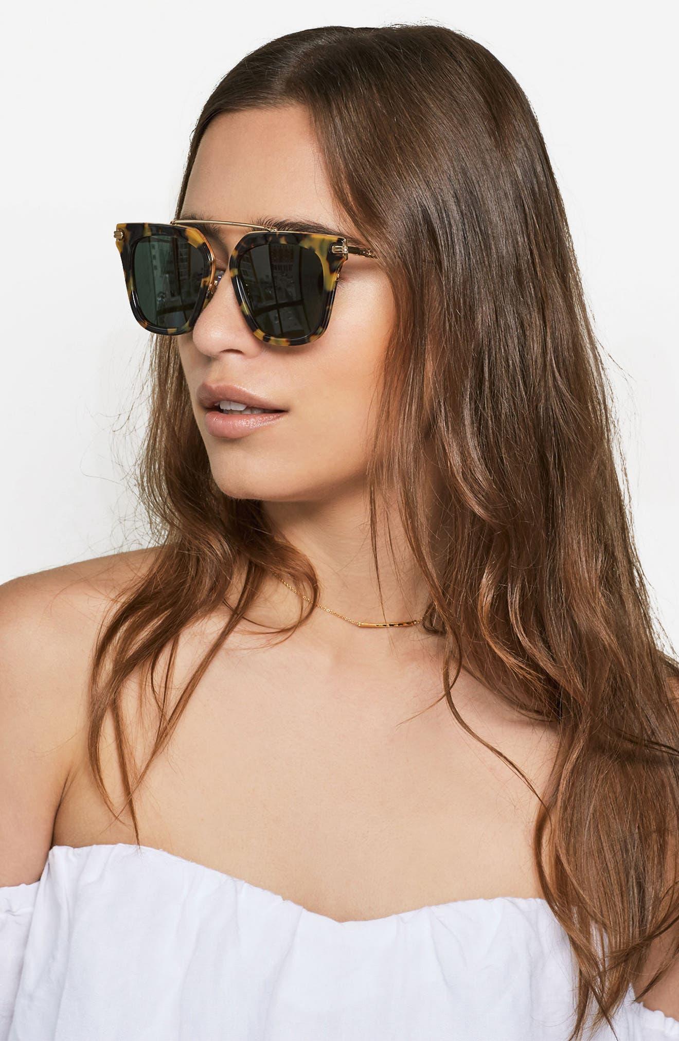 Parker 50mm Sunglasses,                             Alternate thumbnail 3, color,