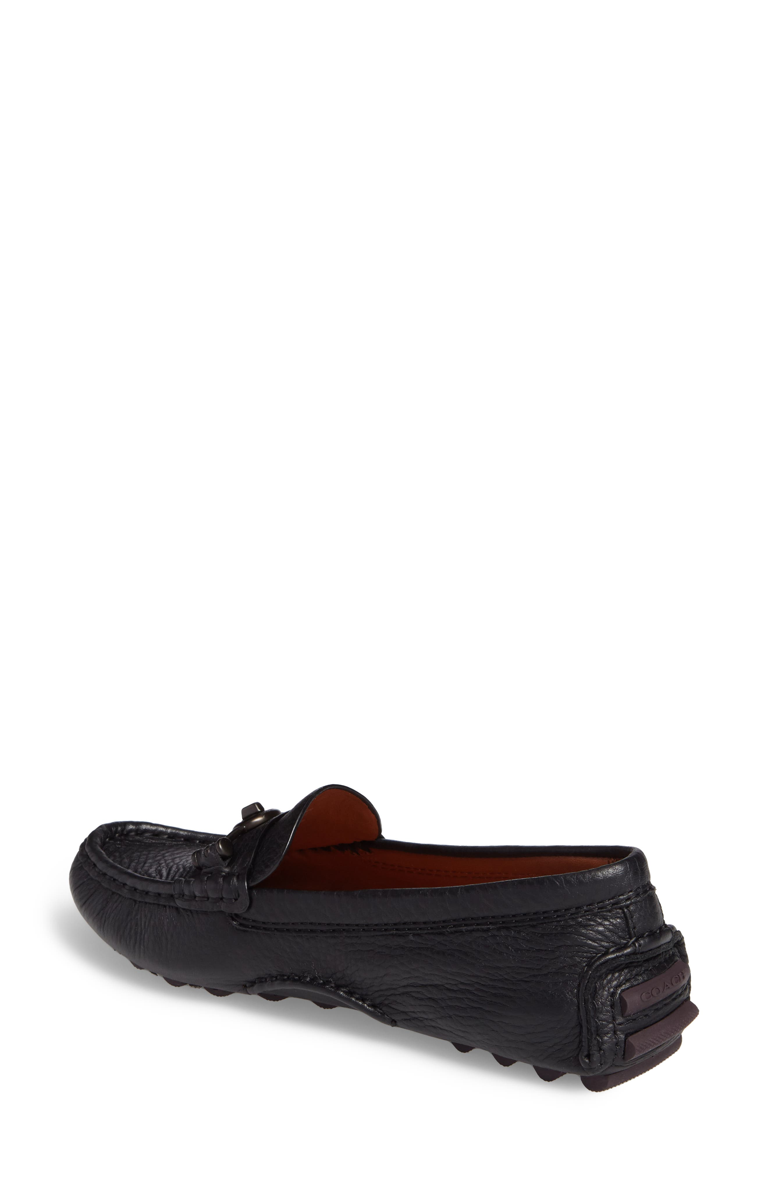 Alternate Image 2  - COACH Crosby Driver Loafer (Women)