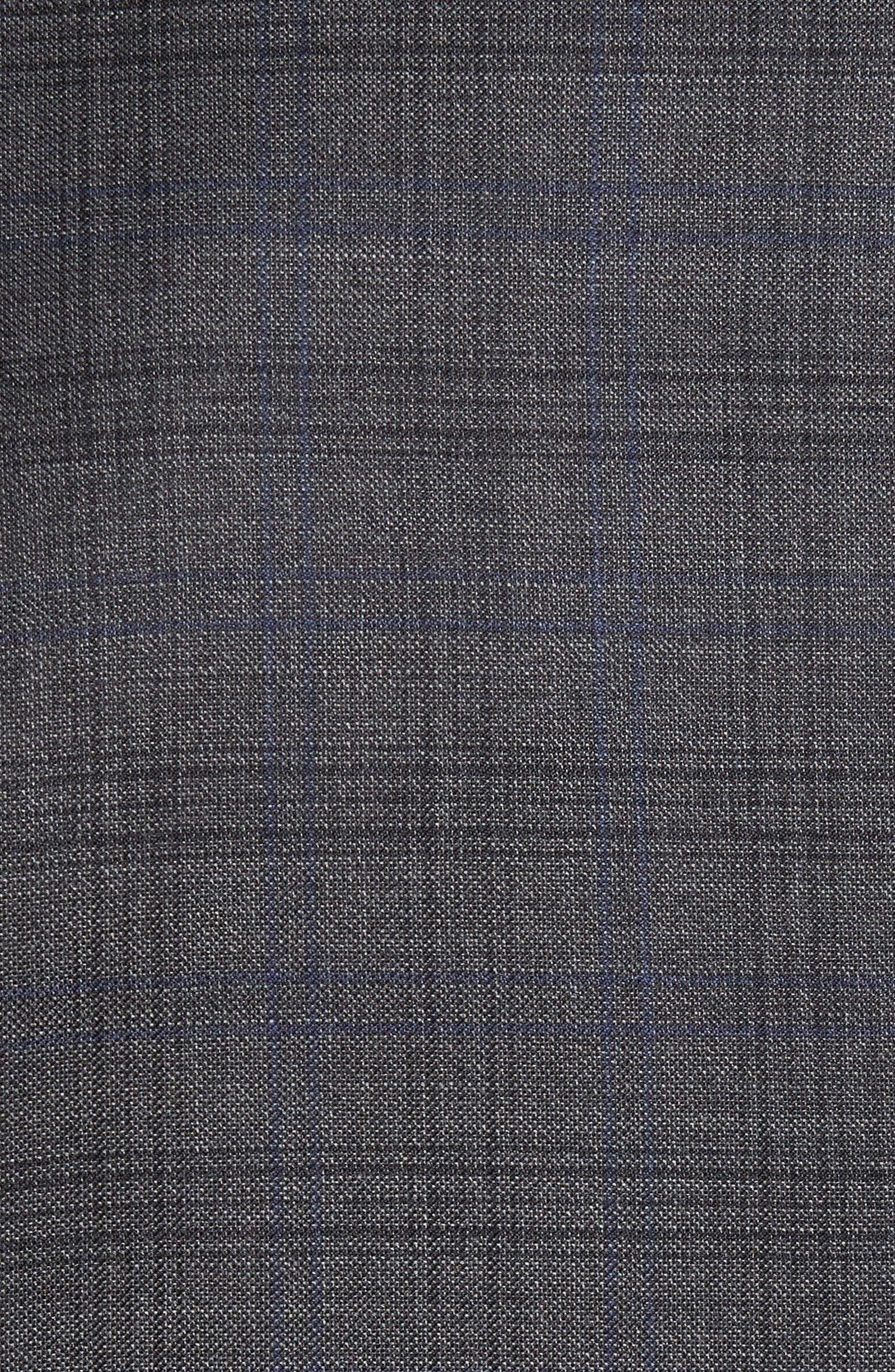 Alternate Image 5  - Todd Snyder White Label Sutton Trim Fit Plaid Wool Sport Coat
