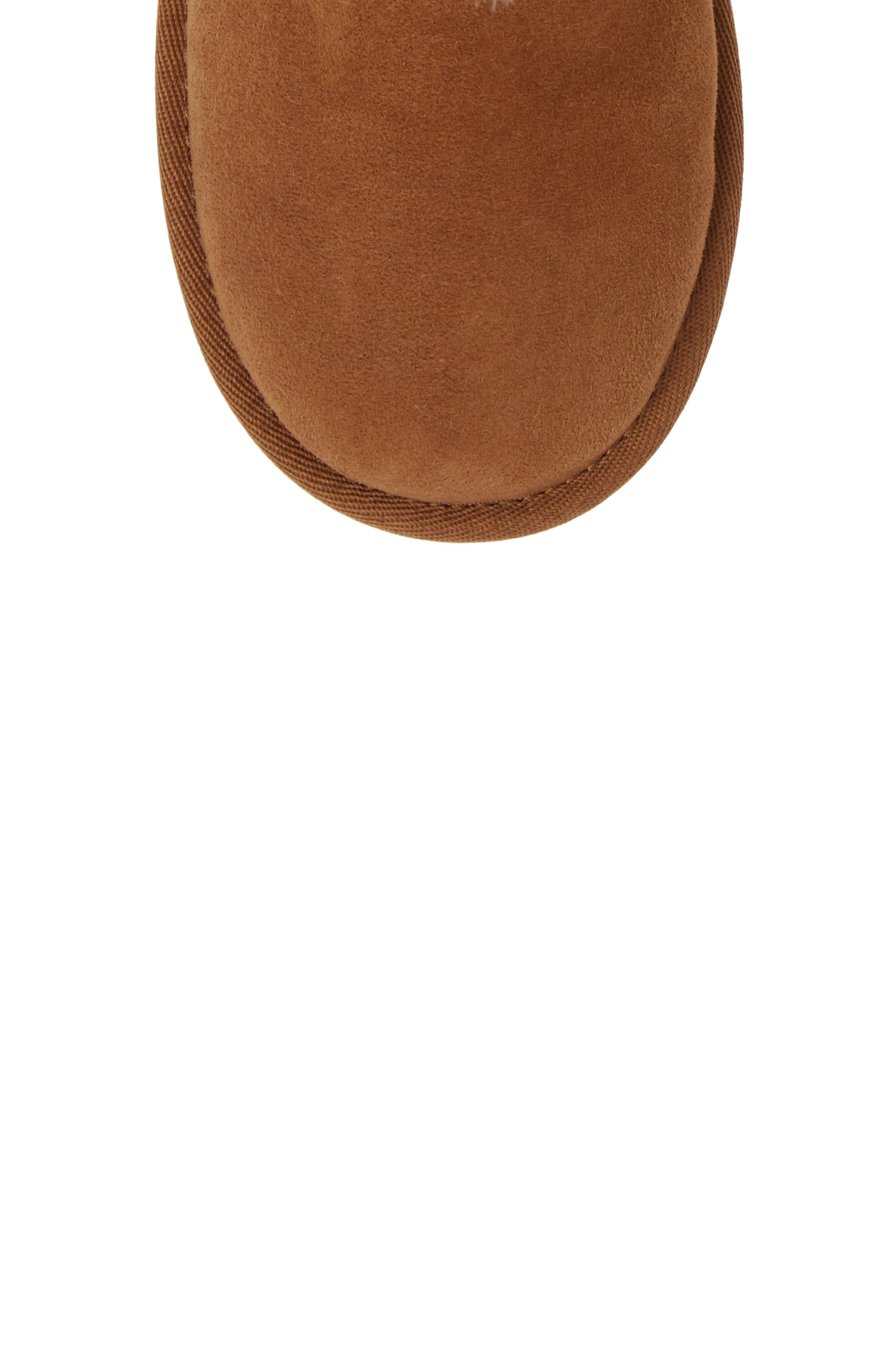 Alternate Image 5  - UGG® Bailey Button II Water Resistant Genuine Shearling Boot (Walker, Toddler, Little Kid & Big Kid)