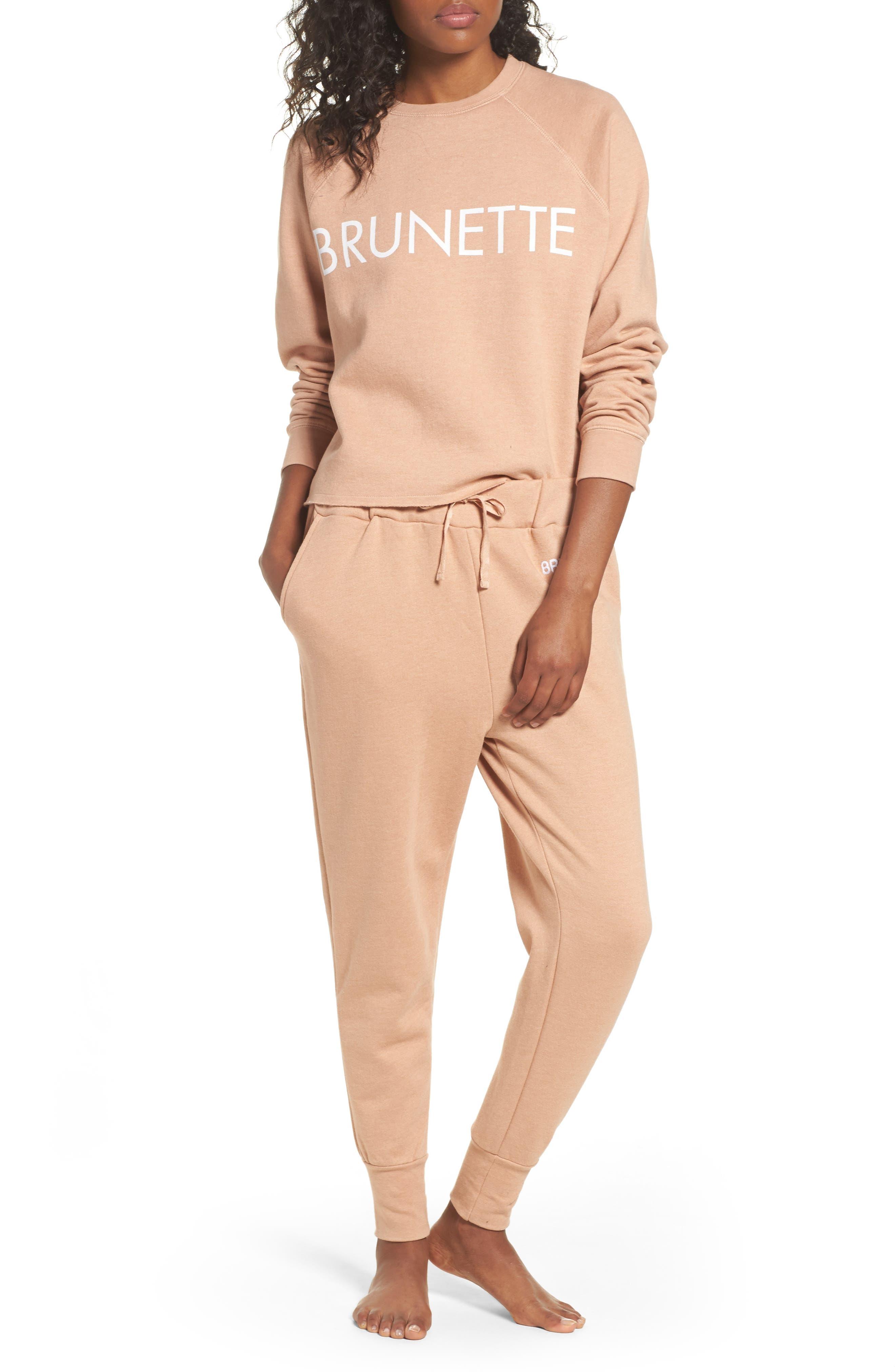 Alternate Image 5  - BRUNETTE the Label Middle Sister Brunette Sweatshirt