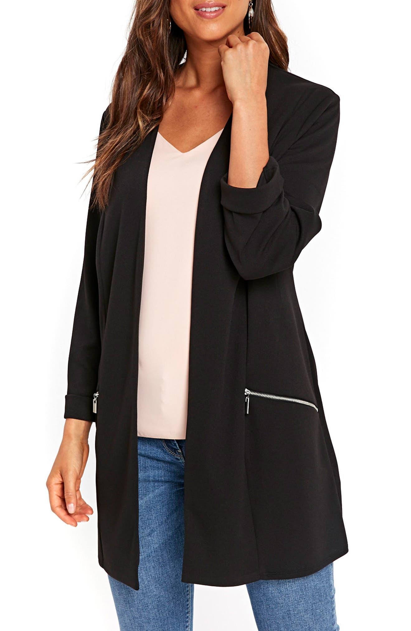 Wallis Longline Scuba Jacket