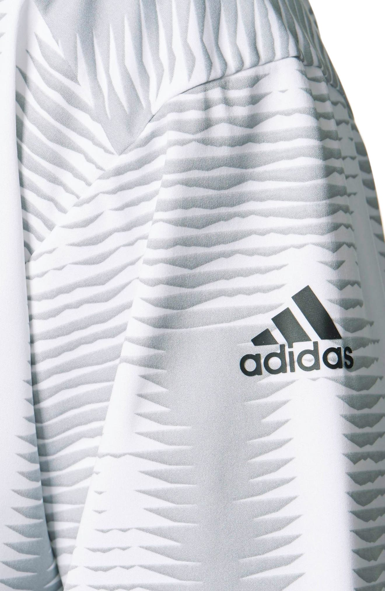 Alternate Image 4  - adidas Woven Windbreaker