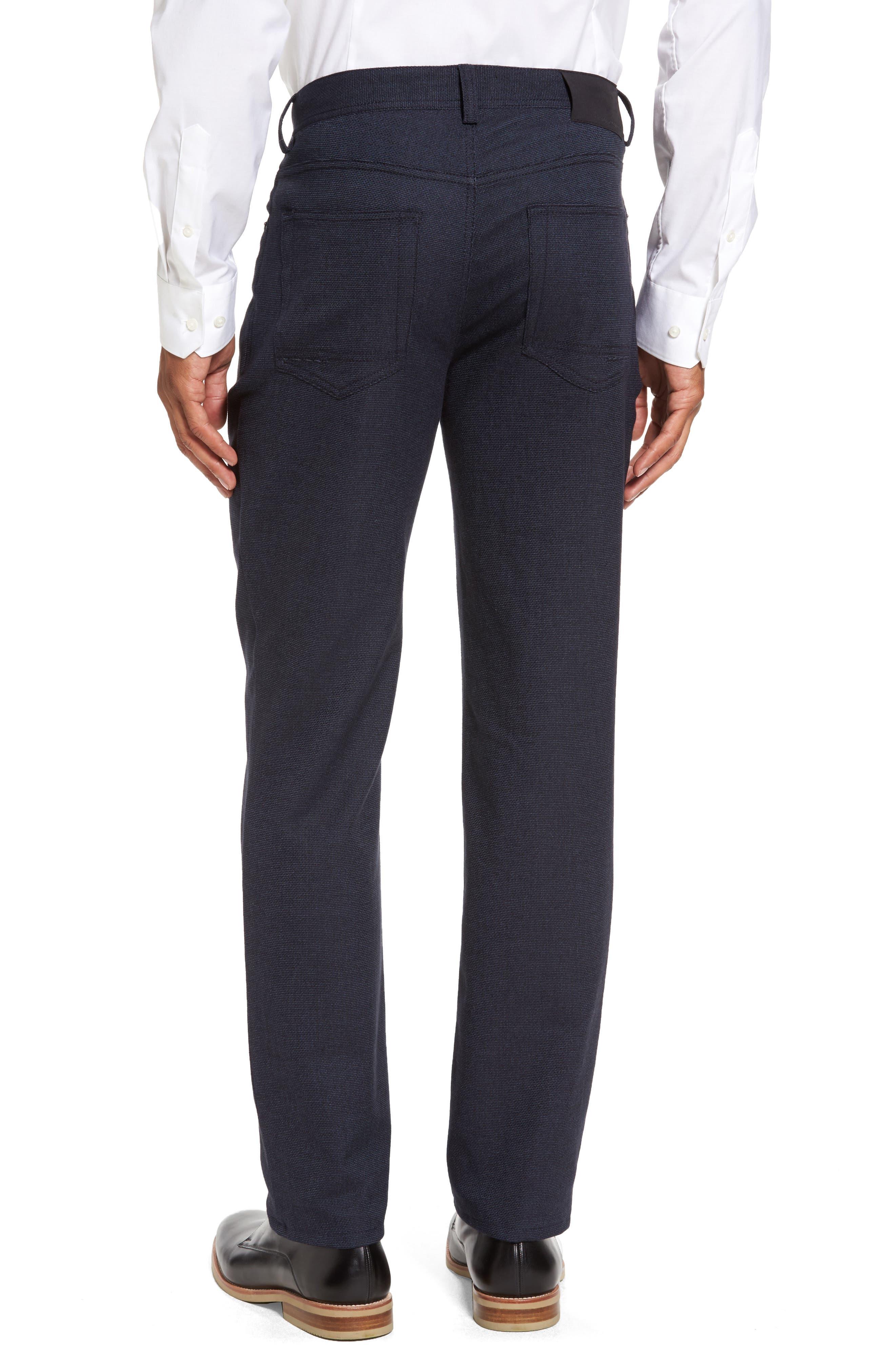 Vince Slim Fit Stretch Five-Pocket Pants,                             Alternate thumbnail 2, color,                             Navy Digital Neat