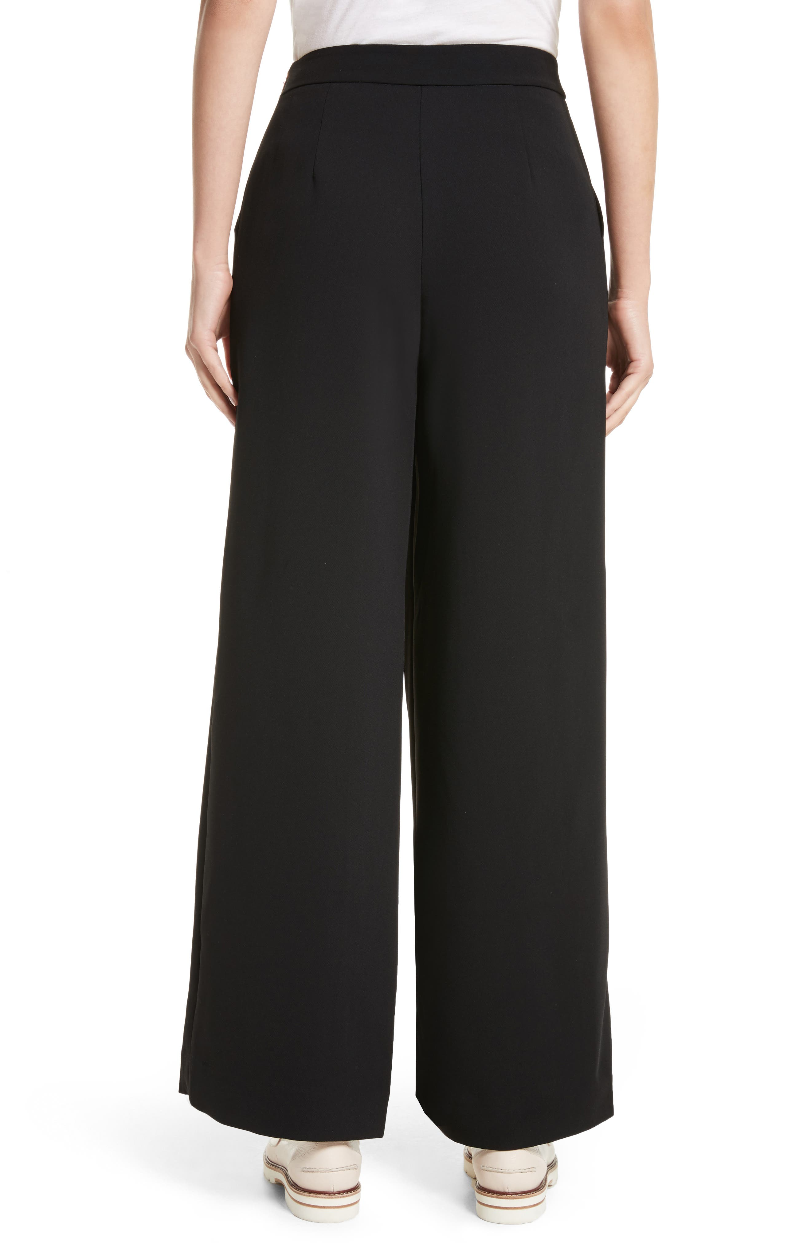Alternate Image 2  - Ted Baker London Yasin Wide Leg Wrap Front Trousers