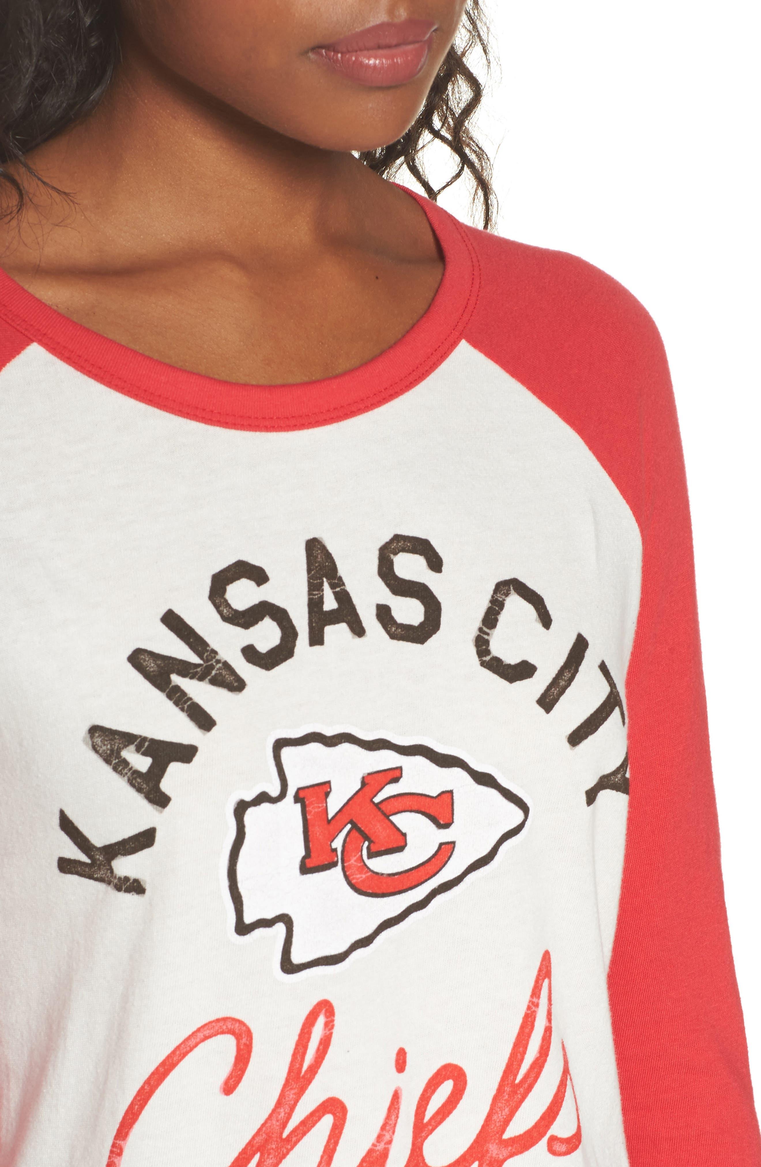 Alternate Image 4  - Junk Food NFL Kansas City Chiefs Raglan Tee