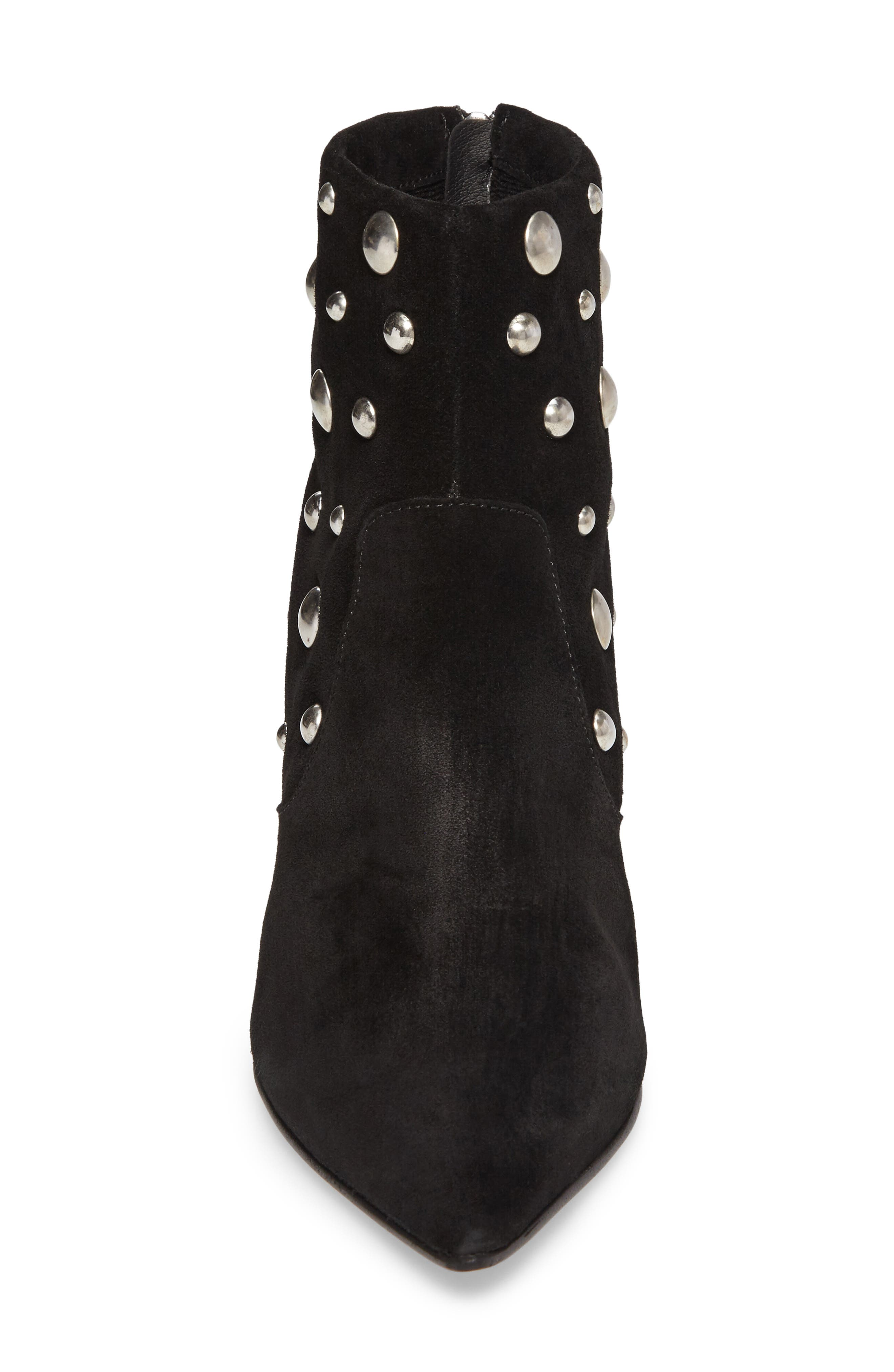 Alternate Image 4  - Topshop Ascot Studded Pointy Toe Bootie (Women)