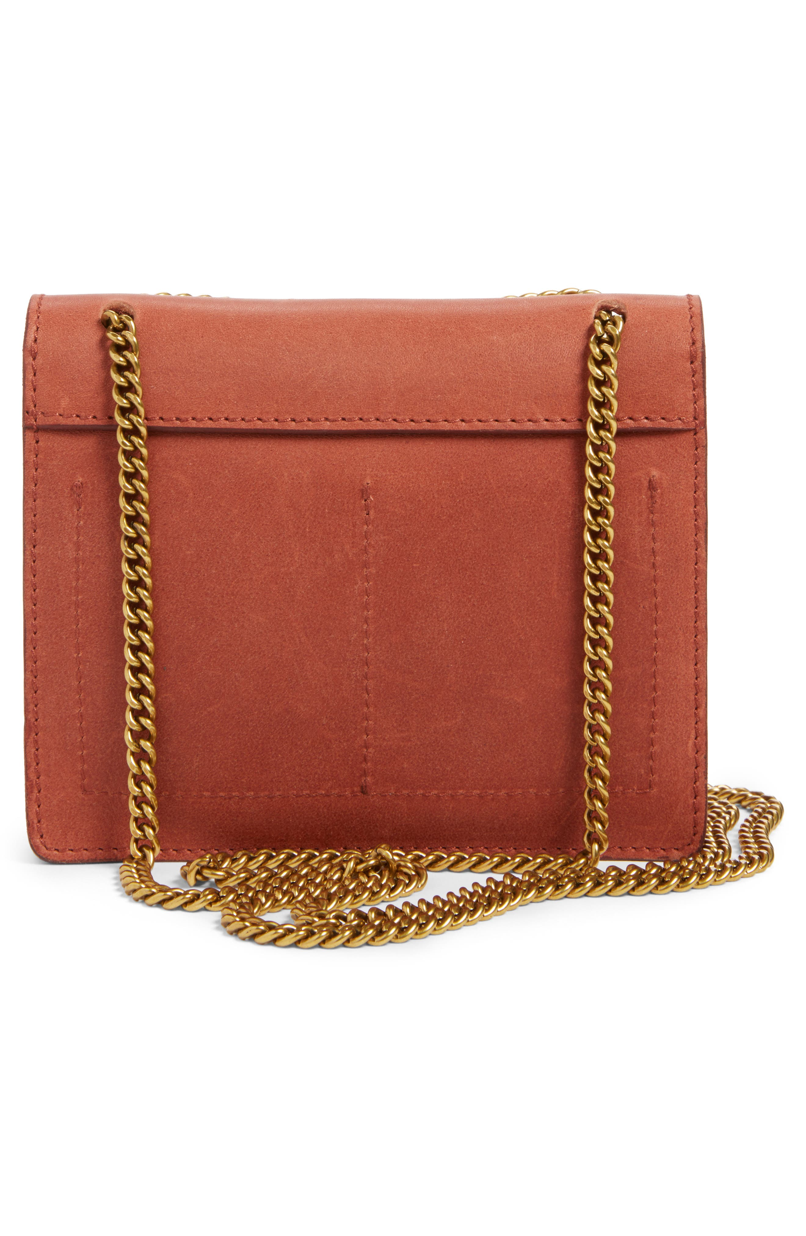 Alternate Image 3  - Madewell Leather Crossbody Wallet