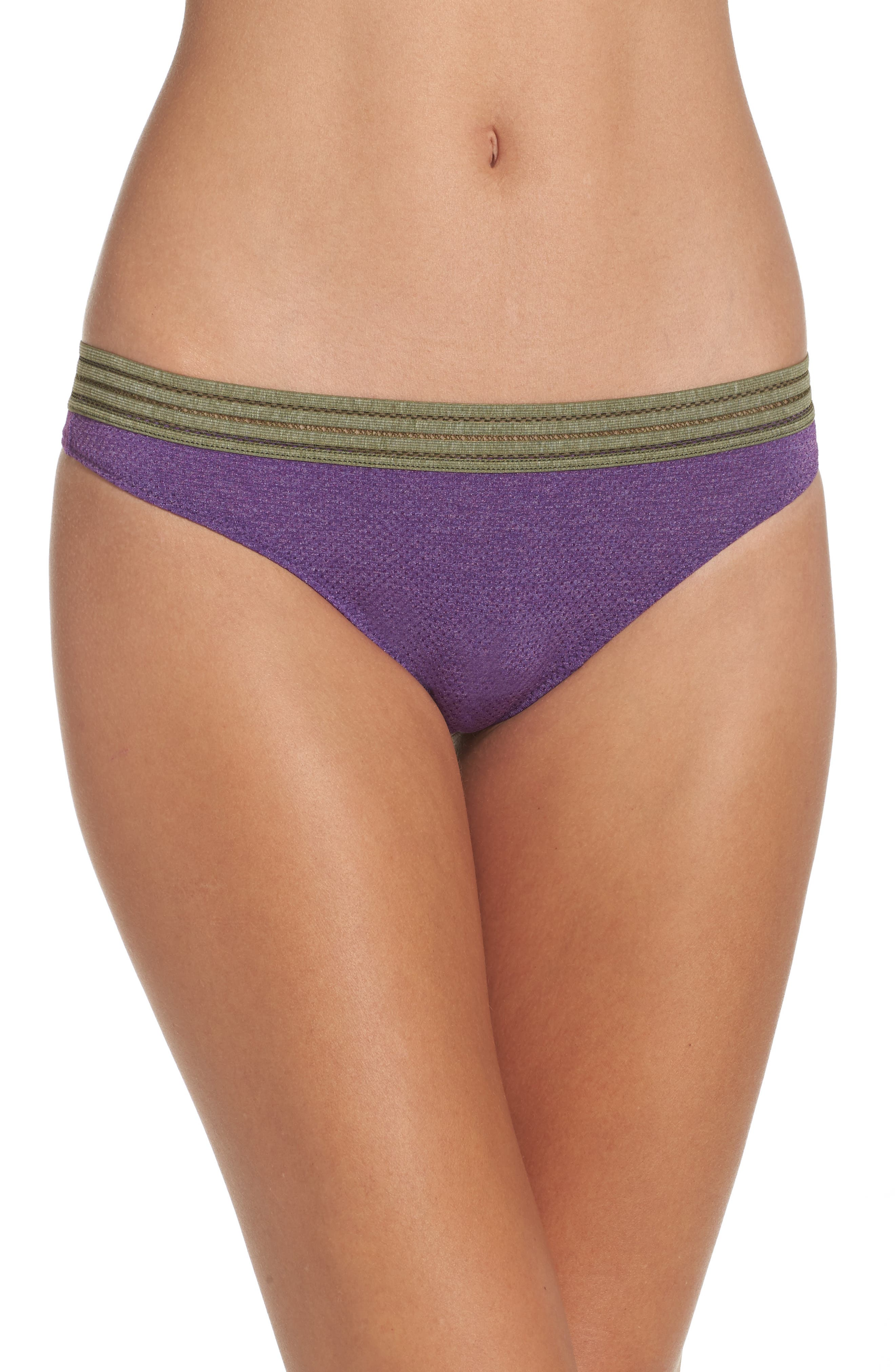 Alternate Image 1 Selected - b.tempt'd by Wacoal Active Thong (3 for $33)