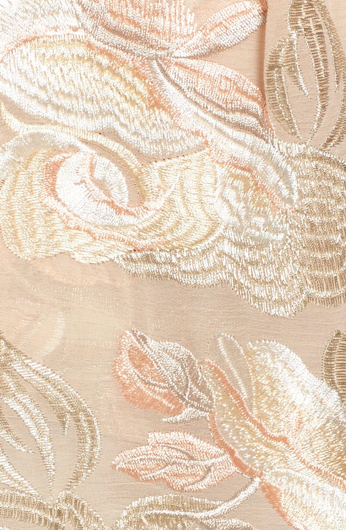 Sawyer High Waist Shorts,                             Alternate thumbnail 5, color,                             Very Fairy Floral
