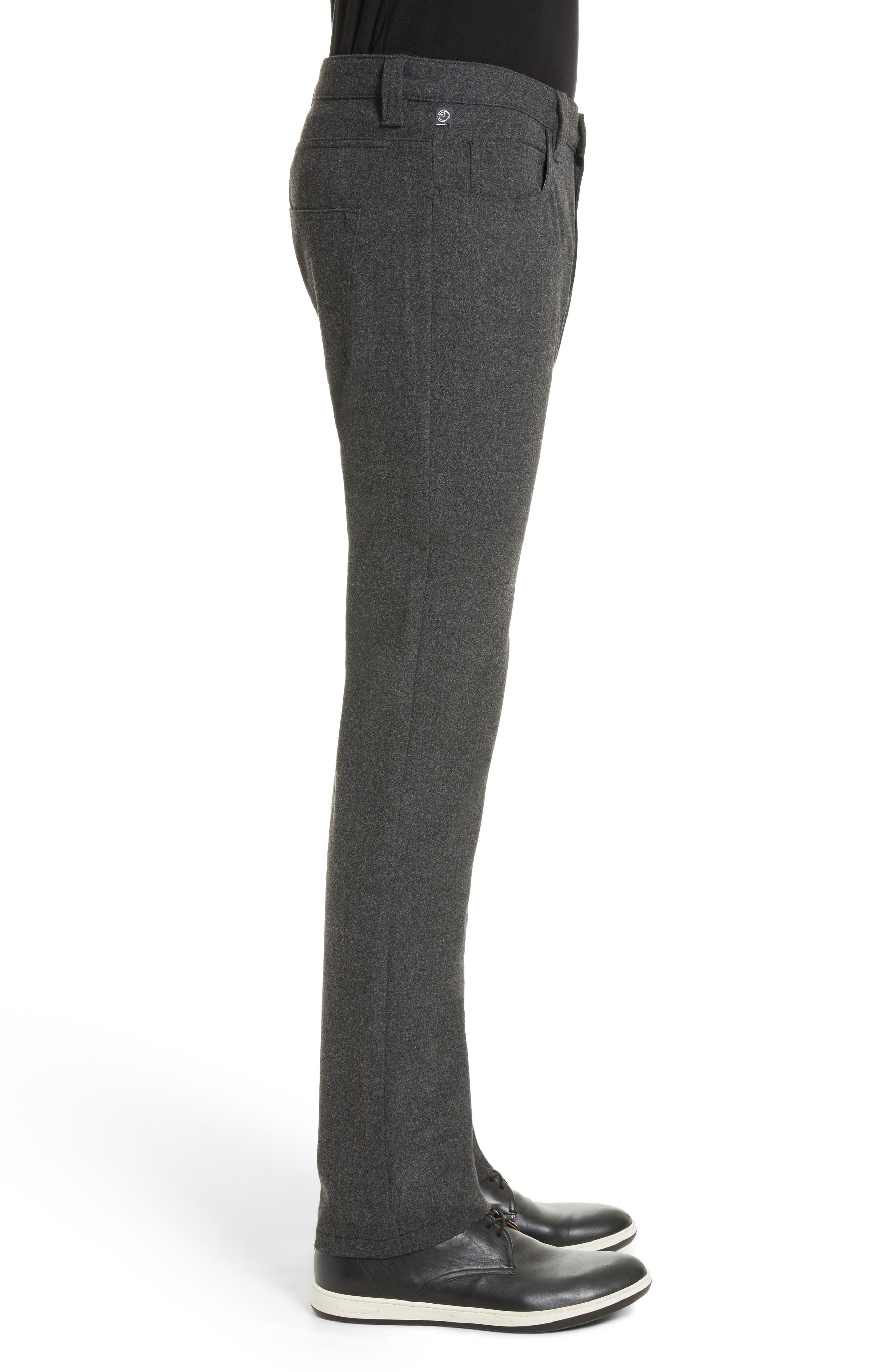 Alternate Image 3  - Armani Collezioni Flannel Sport Pants