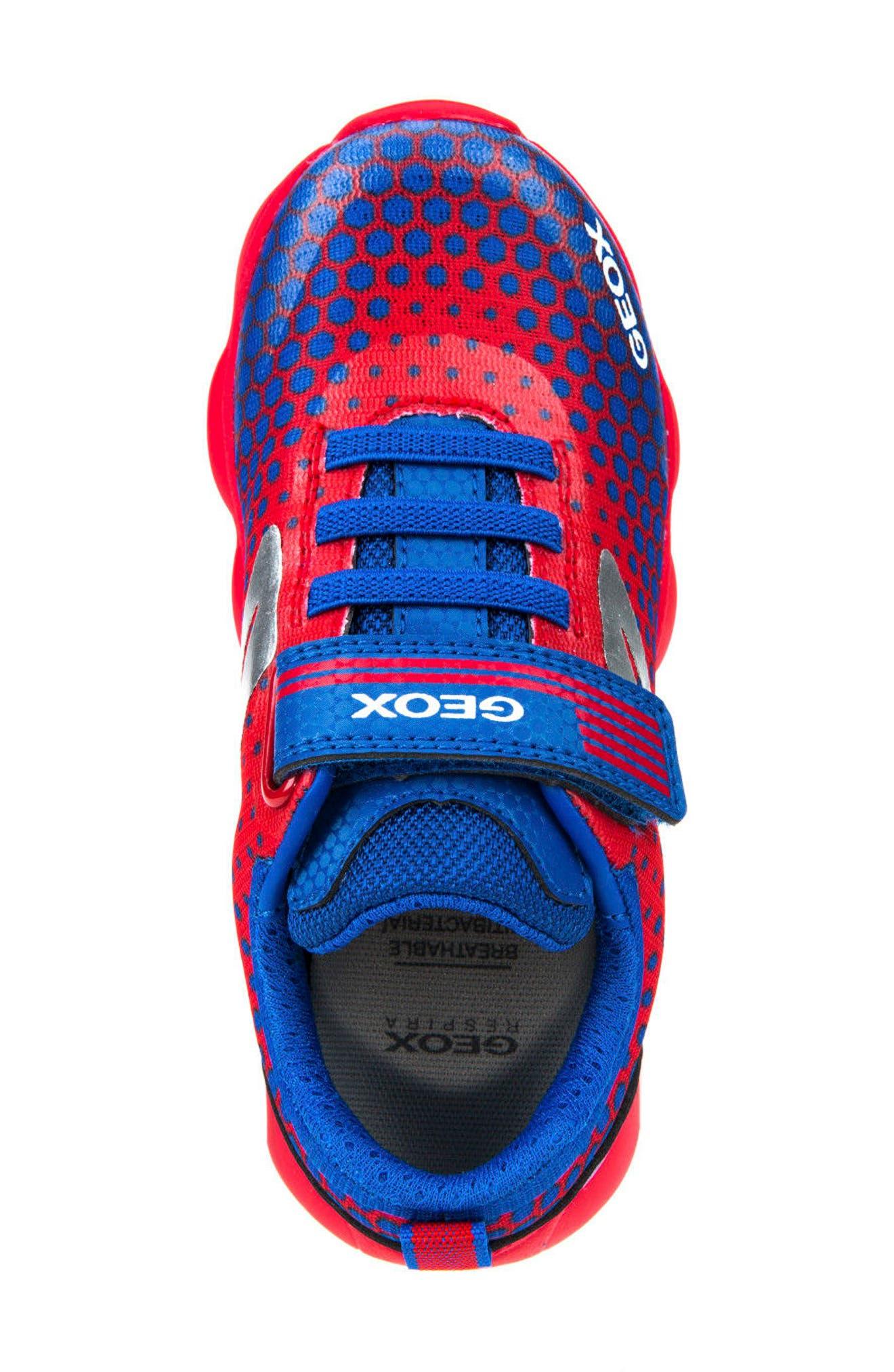 Alternate Image 5  - Geox Munfrey Sneaker (Toddler, Little Kid, Big Kid)