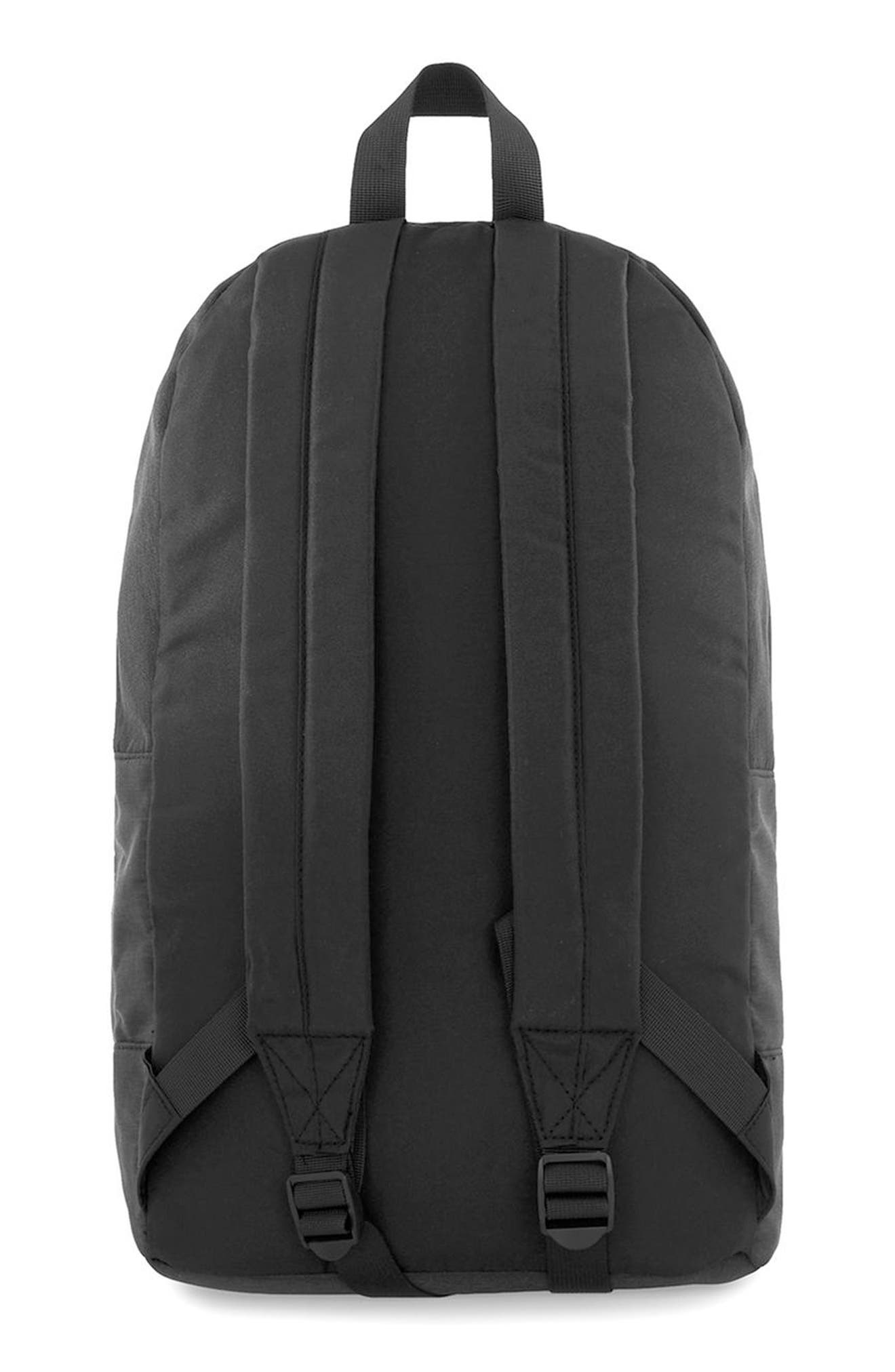Ripstop Backpack,                             Alternate thumbnail 2, color,                             Black