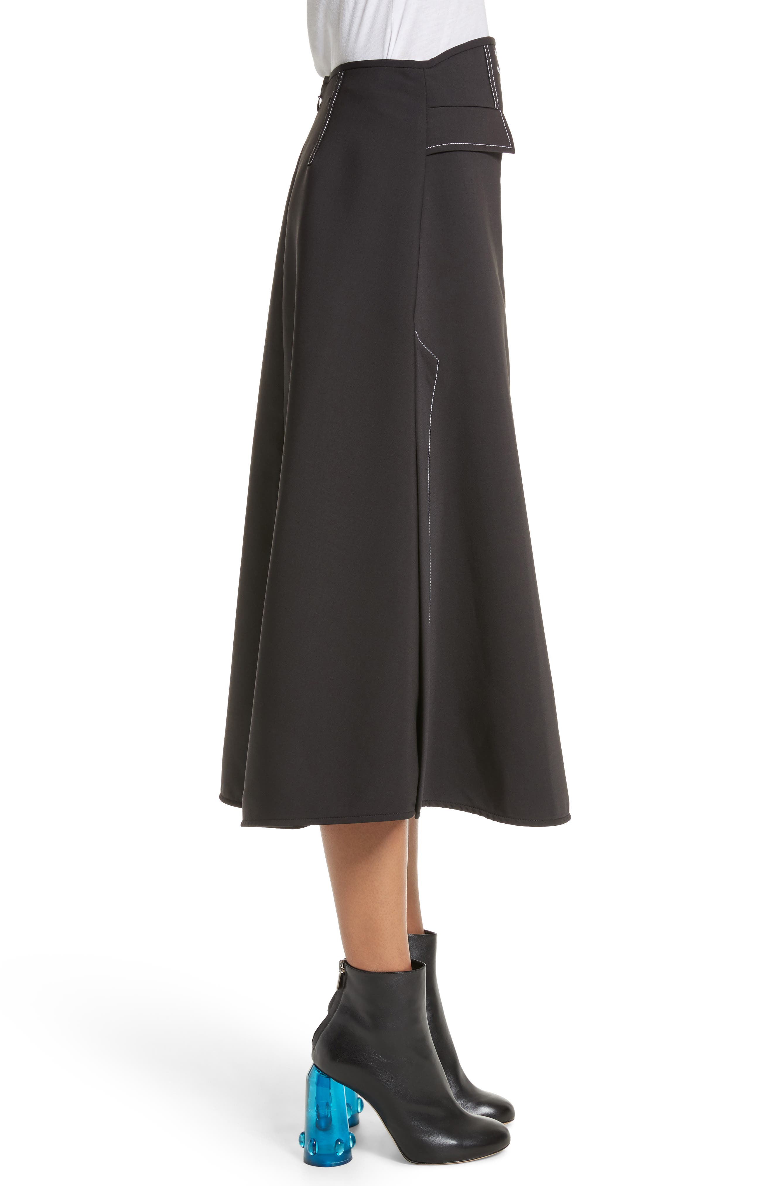 Alternate Image 3  - ELLERY Eunice A-Line Skirt