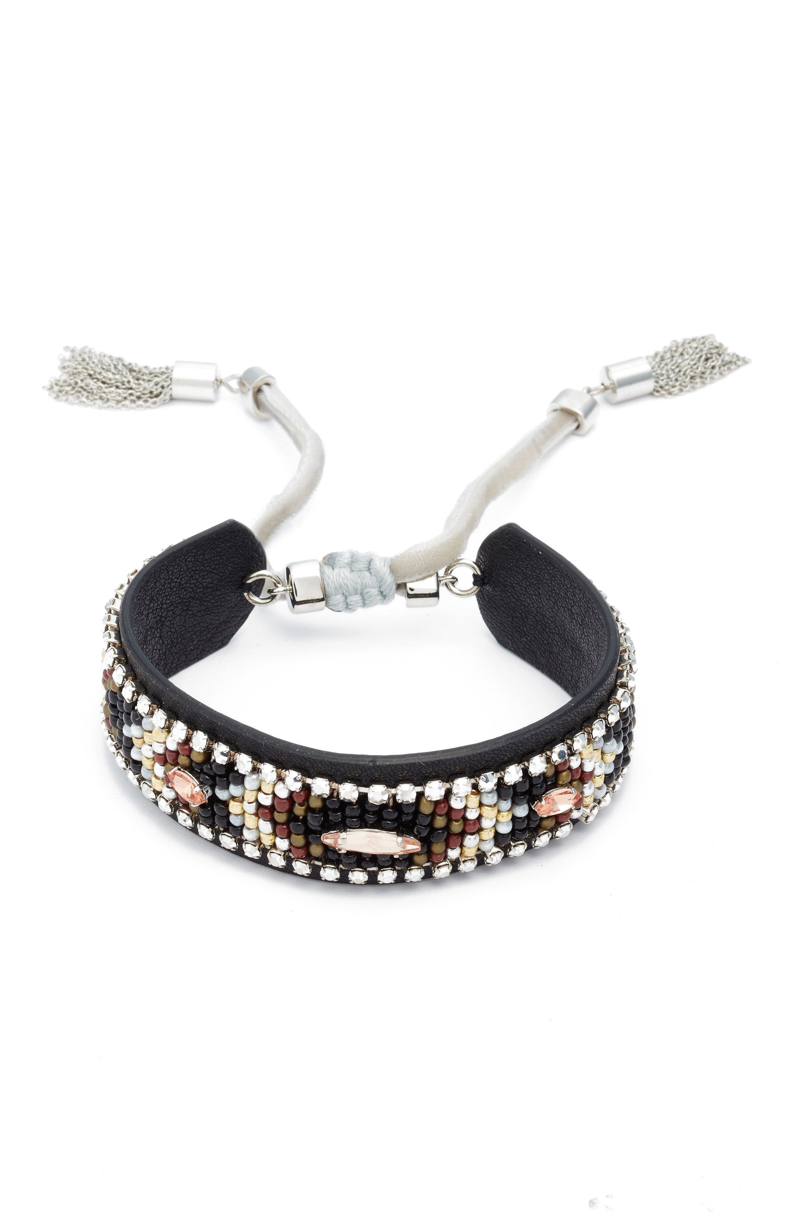 Rebecca Minkoff Leather Friendship Bracelet