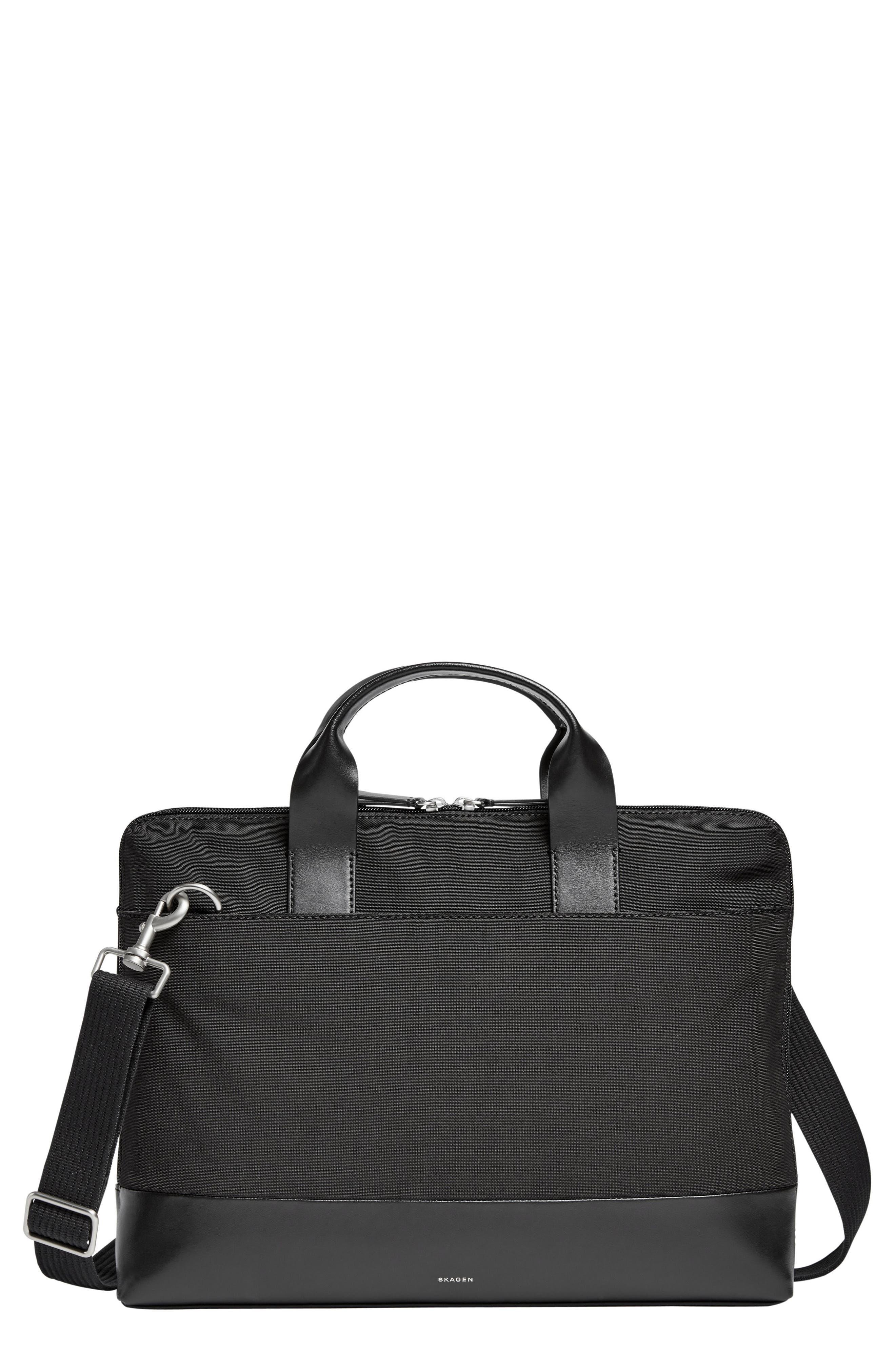 Peder Briefcase,                         Main,                         color, Black