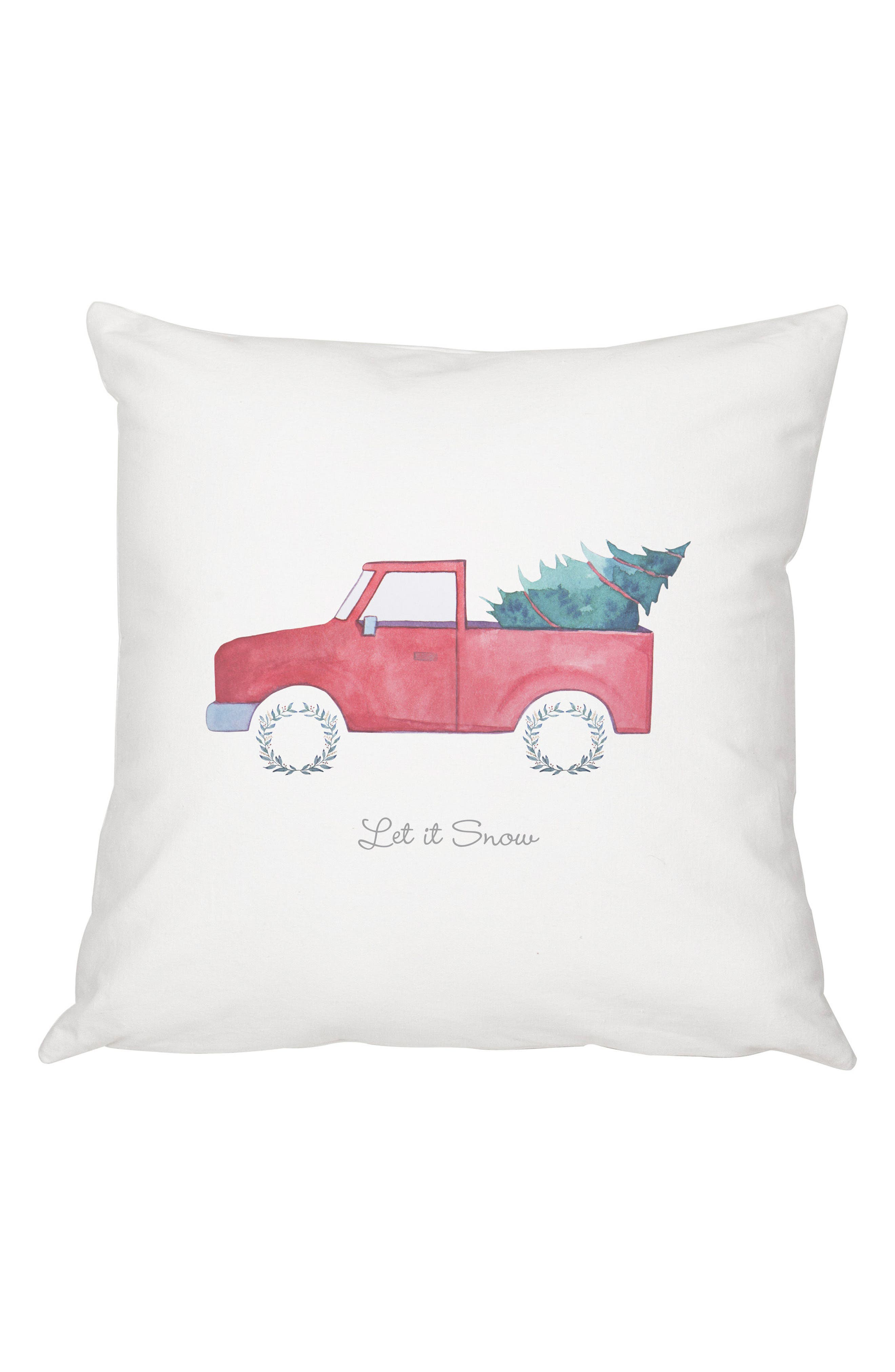 Cathy's Concepts Christmas Tree Truck Pillow