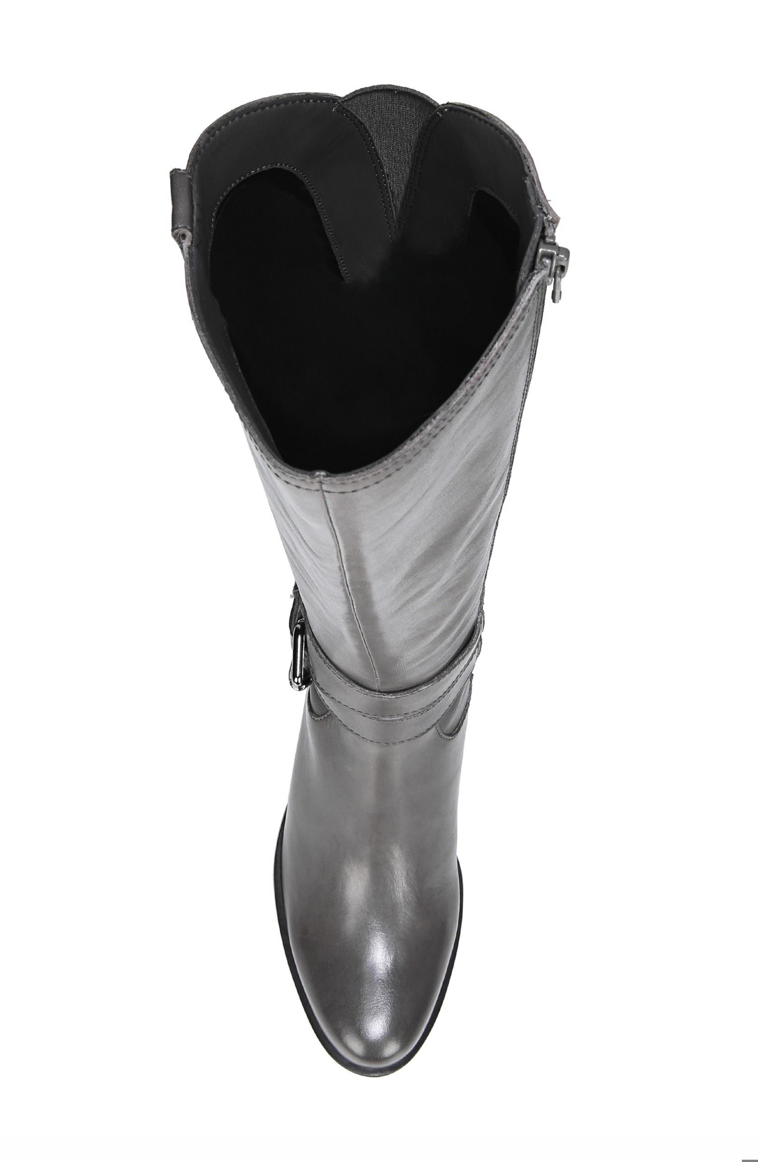 Alternate Image 5  - Naturalizer Dev Buckle Strap Boot (Women) (Regular & Wide Calf)