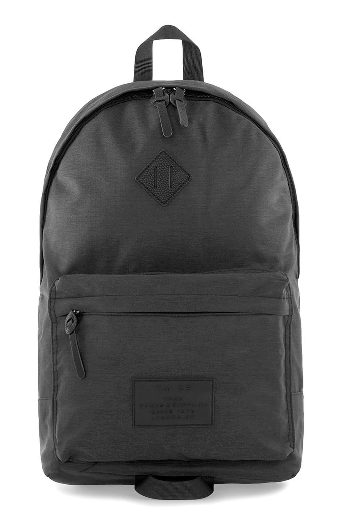 Alternate Image 1 Selected - Topman Ripstop Backpack