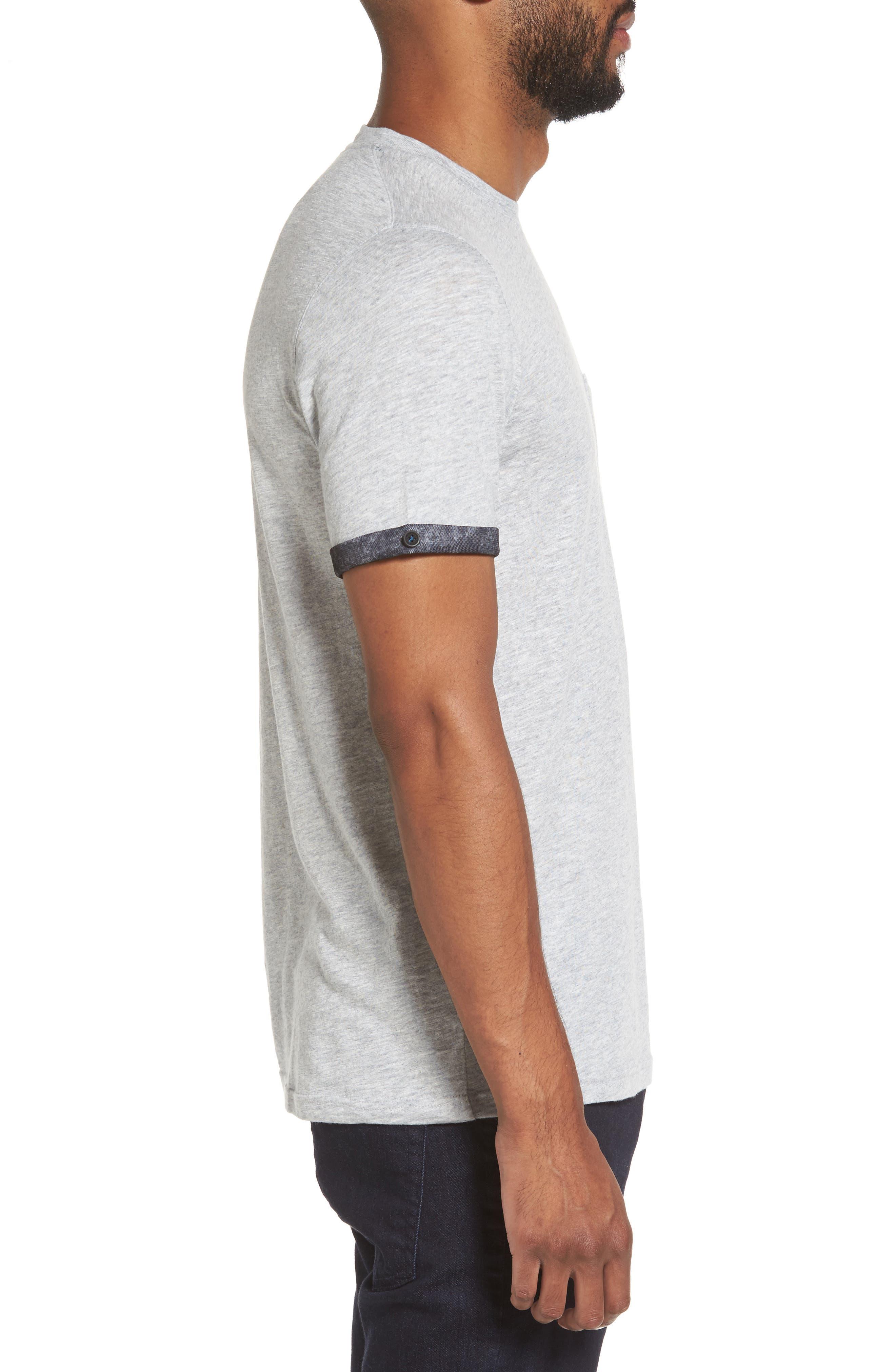 Alternate Image 3  - Ted Baker London Samsal Pocket T-Shirt