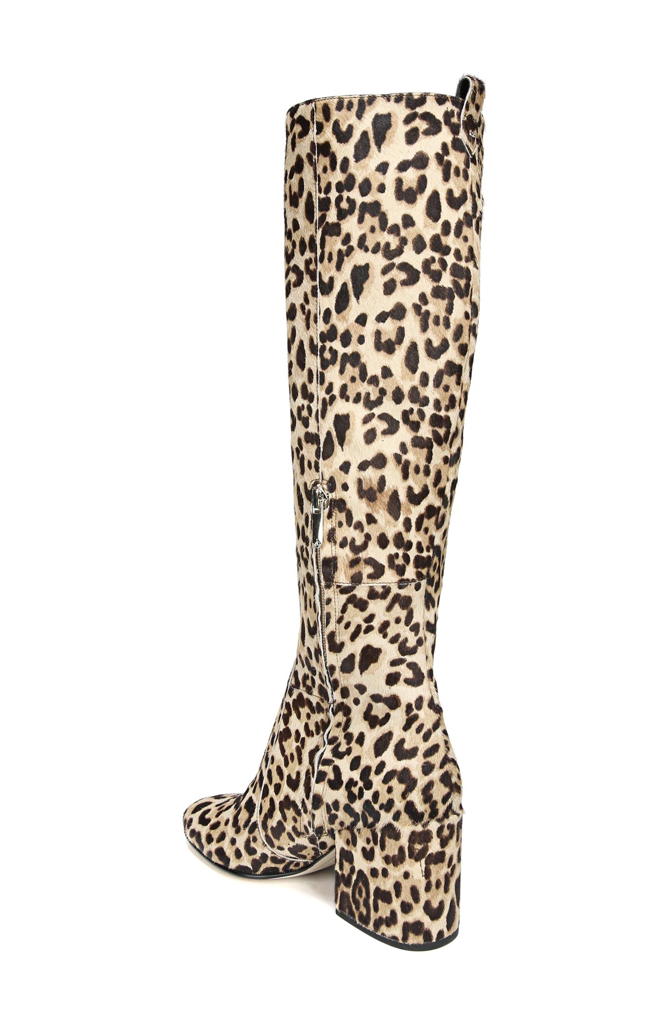 Alternate Image 2  - Sam Edelman Thora Genuine Calf Hair Knee High Boot (Women)