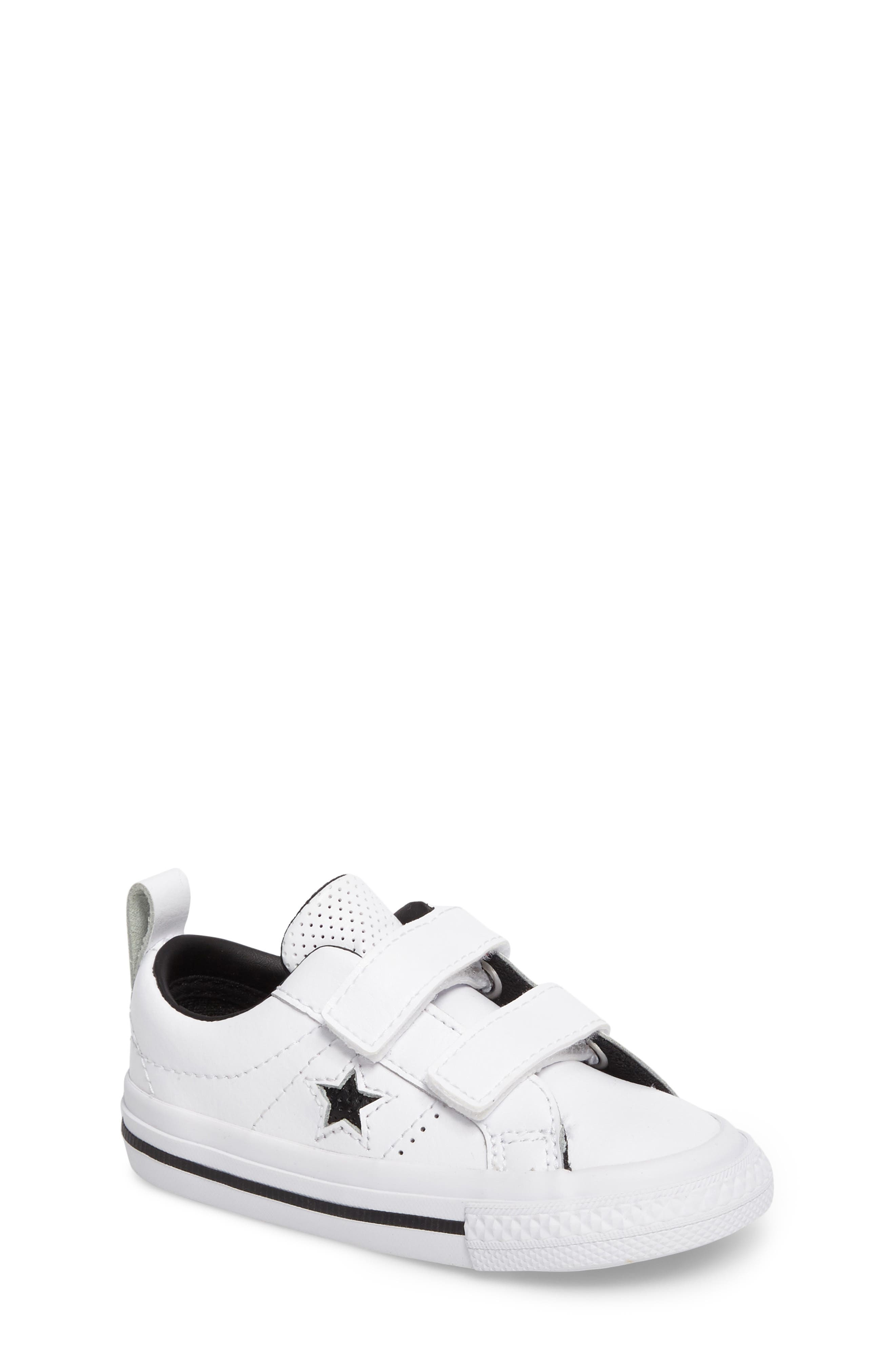 Converse Chuck Taylor® All Star® One Star Sneaker (Baby, Walker & Toddler)