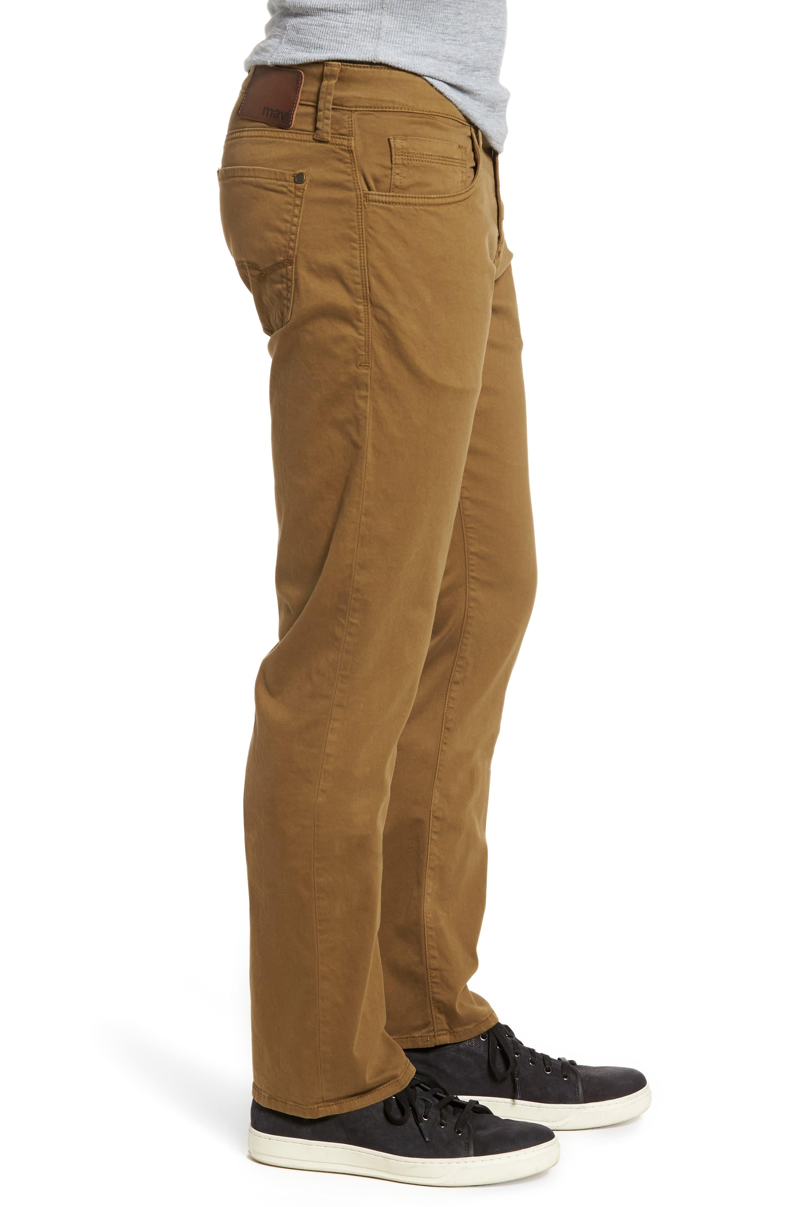 Alternate Image 3  - Mavi Jeans Zach Straight Leg Twill Pants