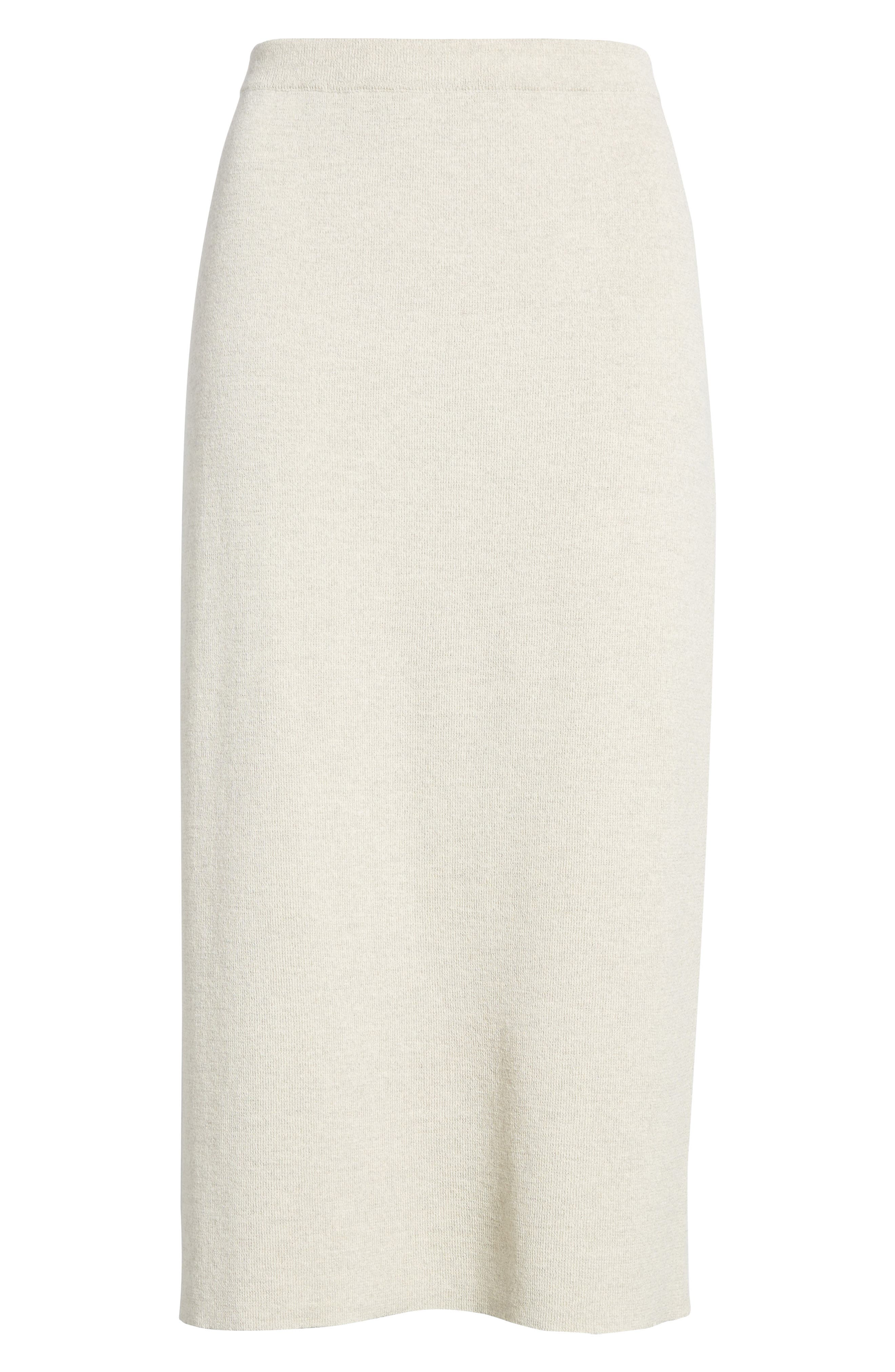 Alternate Image 6  - Eileen Fisher Wool Knit Pencil Skirt