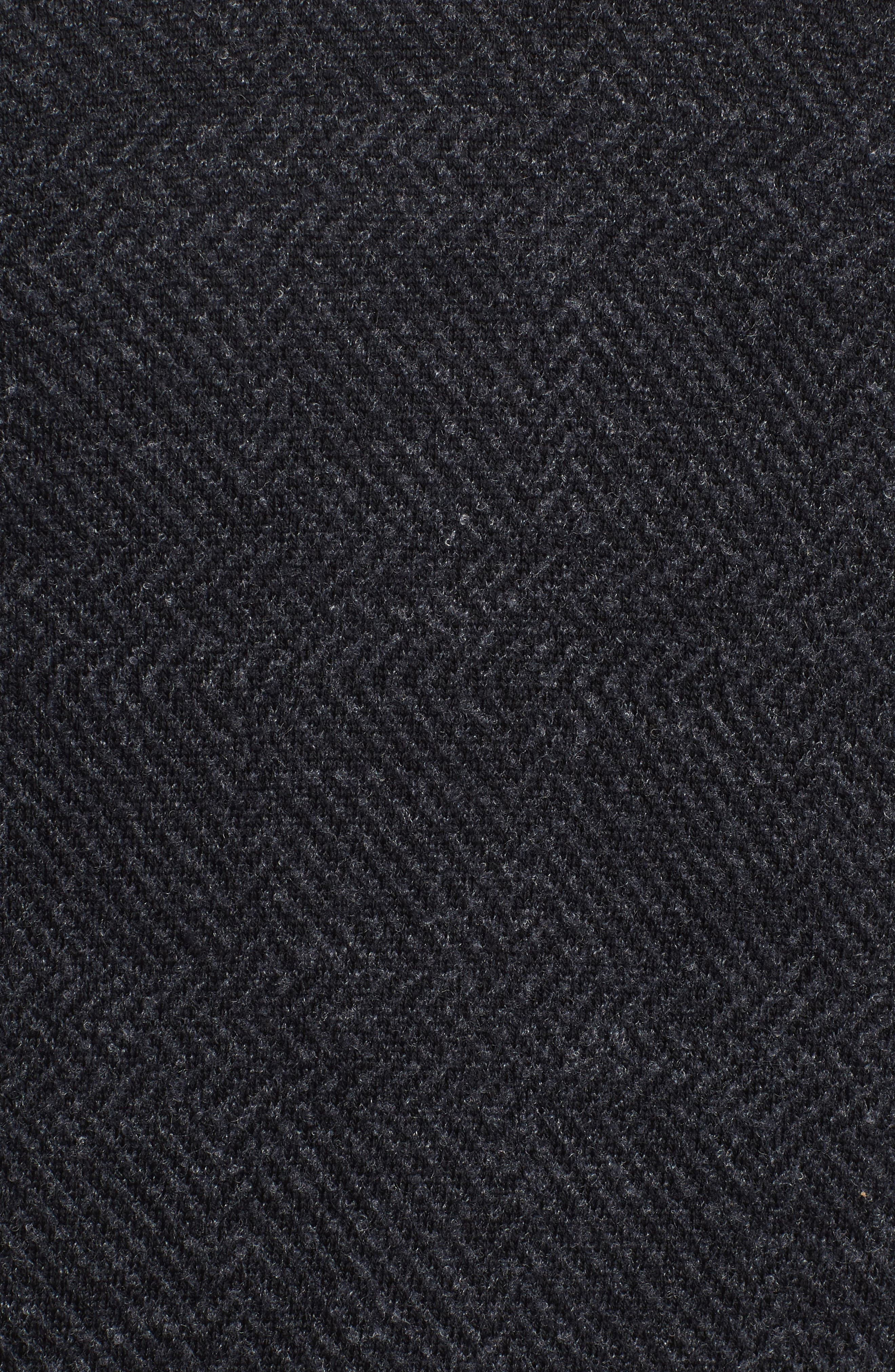 Notto Wool Blend Sweater,                             Alternate thumbnail 6, color,                             Black