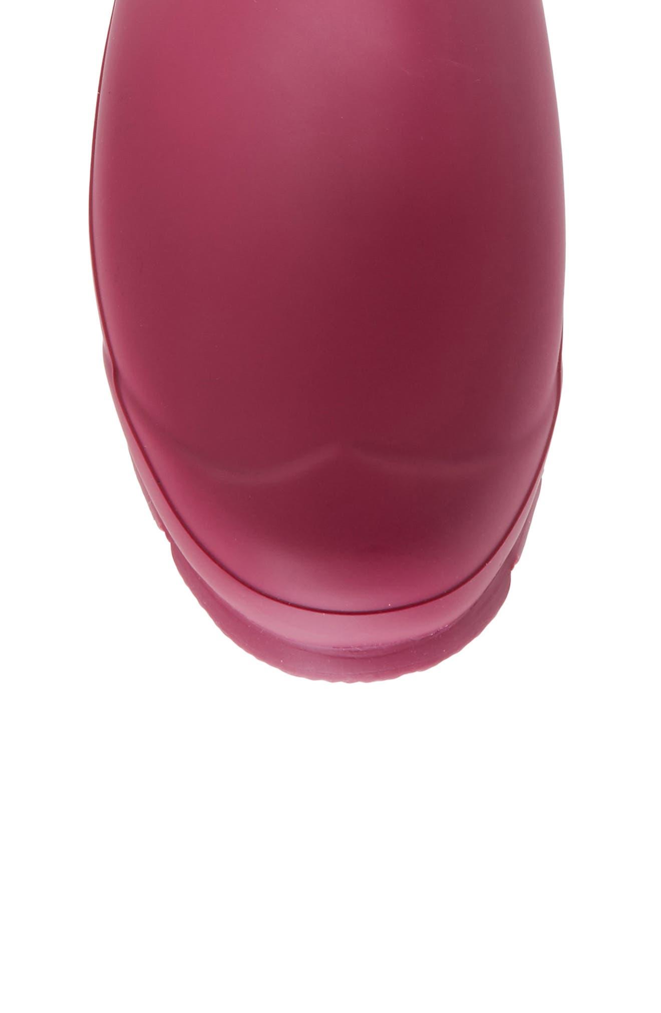 Adjustable Calf Rain Boot,                             Alternate thumbnail 5, color,                             Dark Ion Pink/ Ion Pink