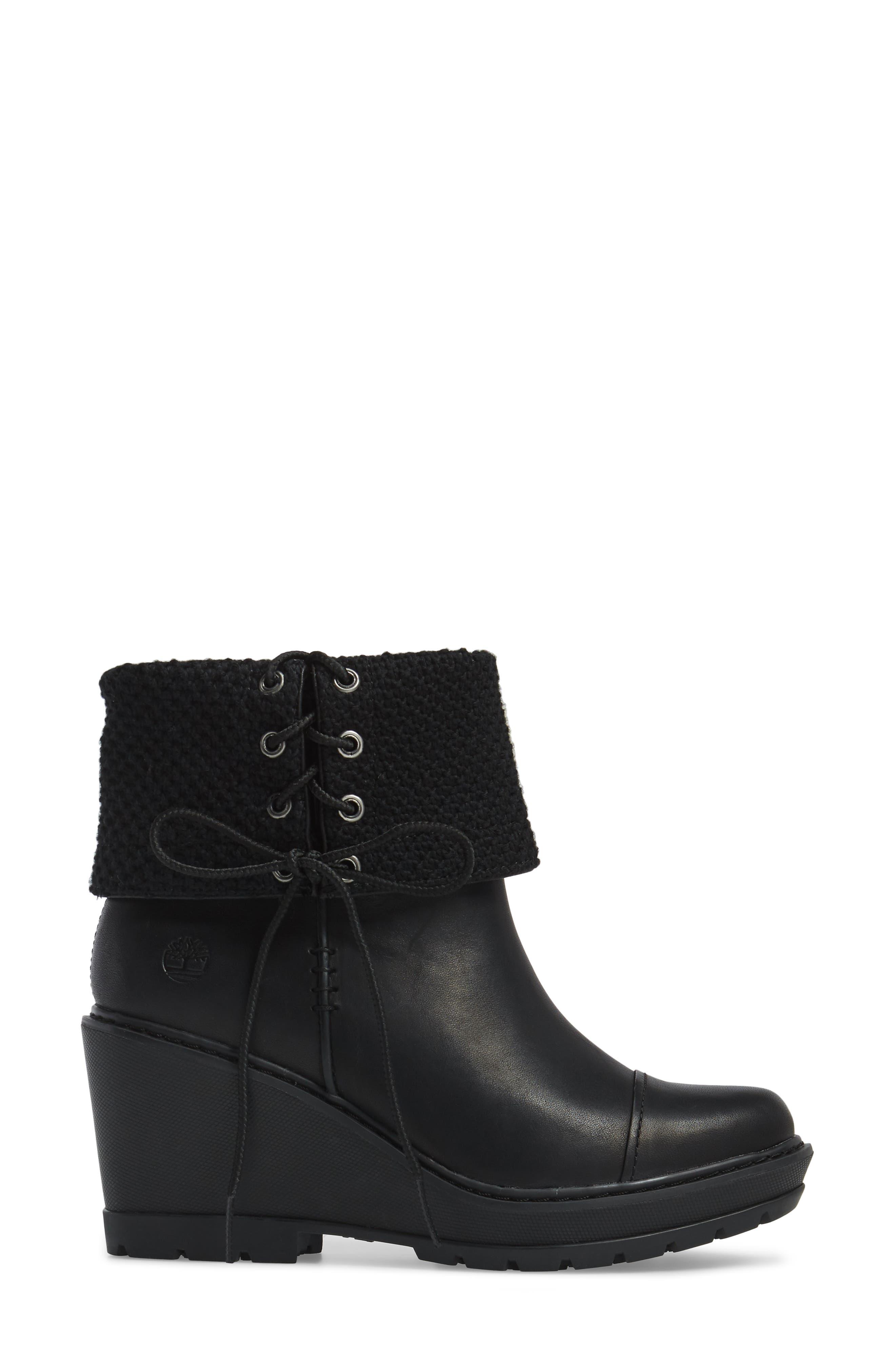 Alternate Image 3  - Timberland Kellis Fold Down Water Resistant Boot (Women)