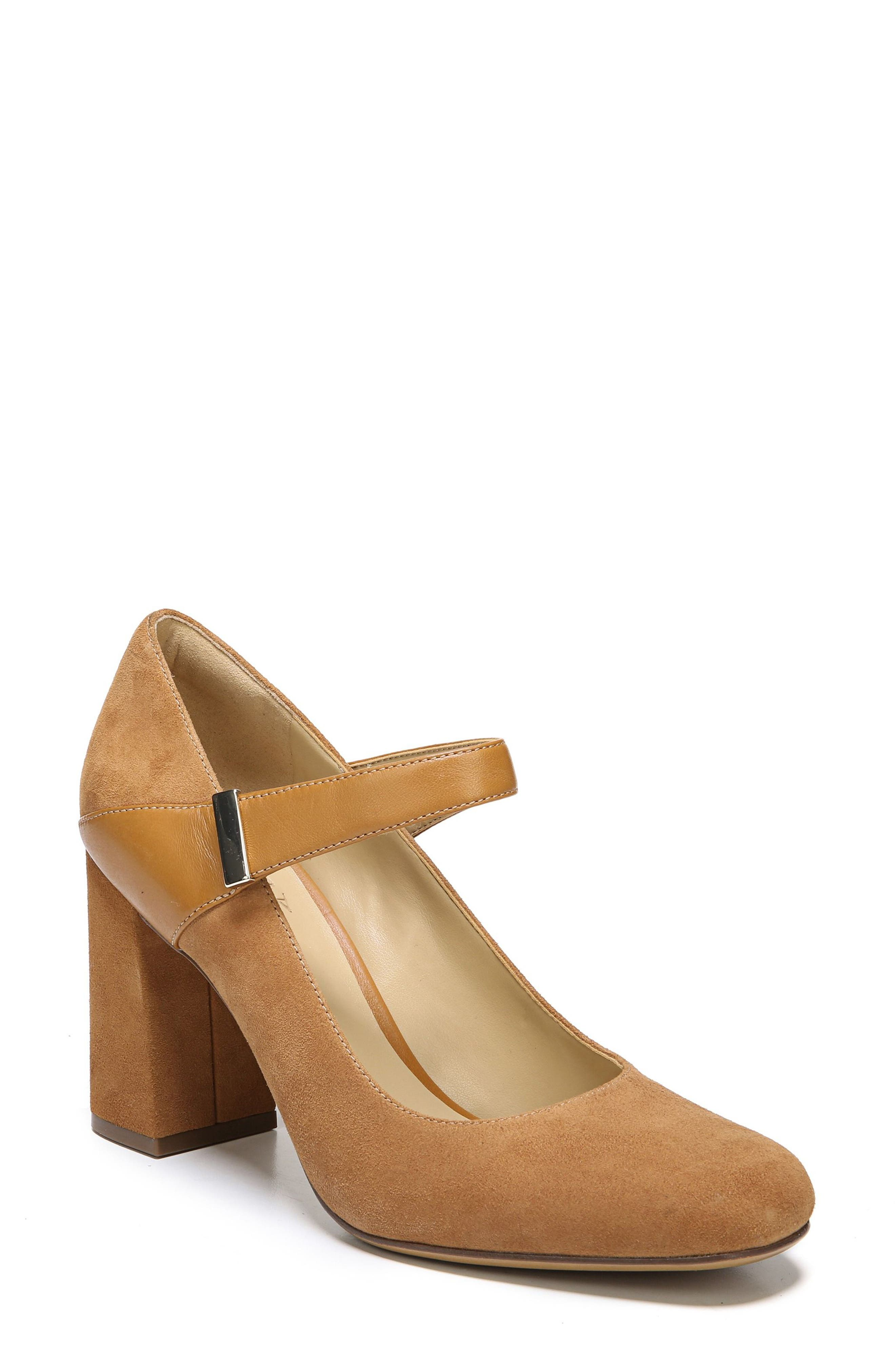 Reva Mary Jane Pump,                         Main,                         color, Camelot Suede