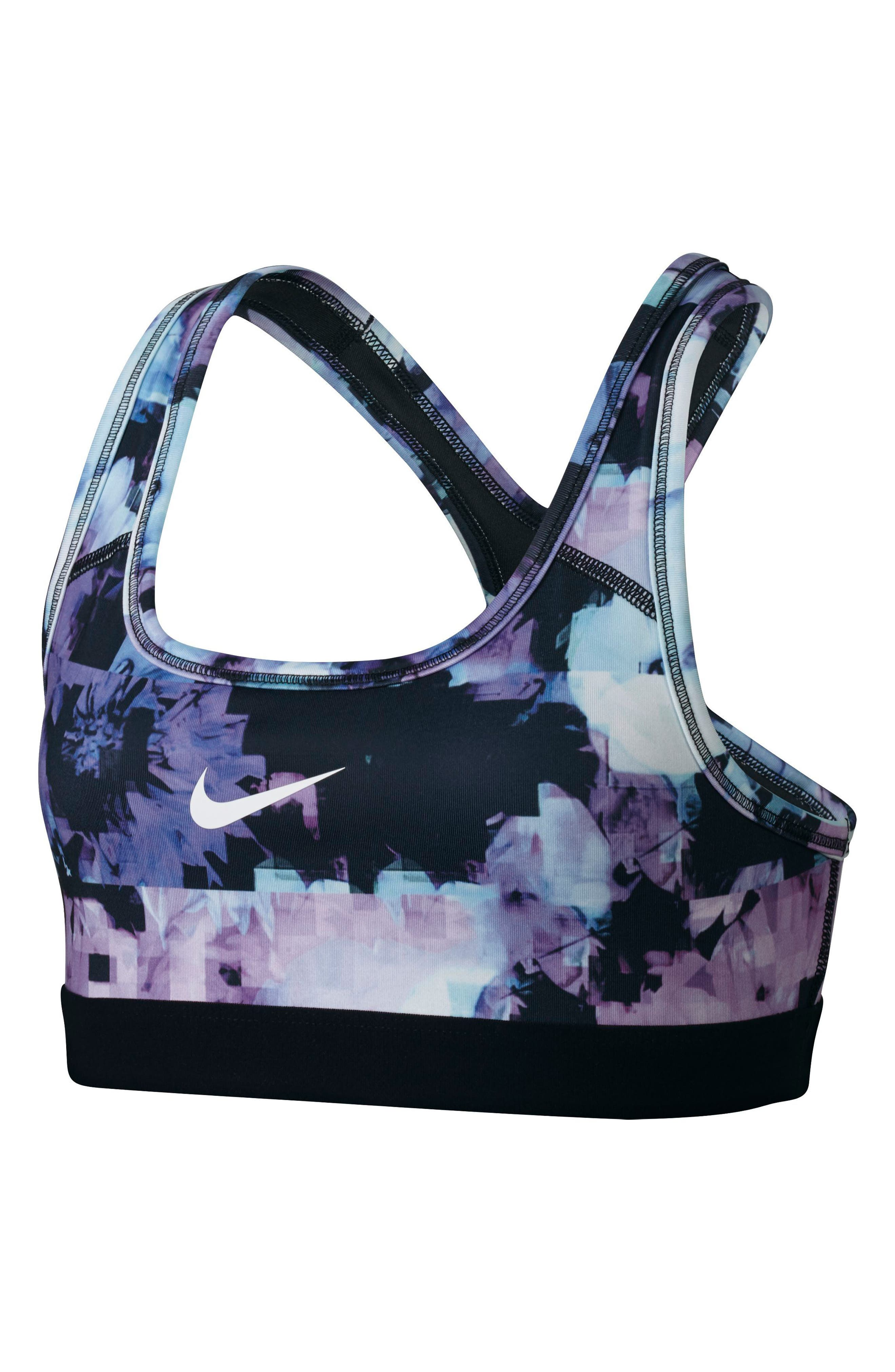 Alternate Image 1 Selected - Nike Pro Classic Sports Bra (Big Girls)