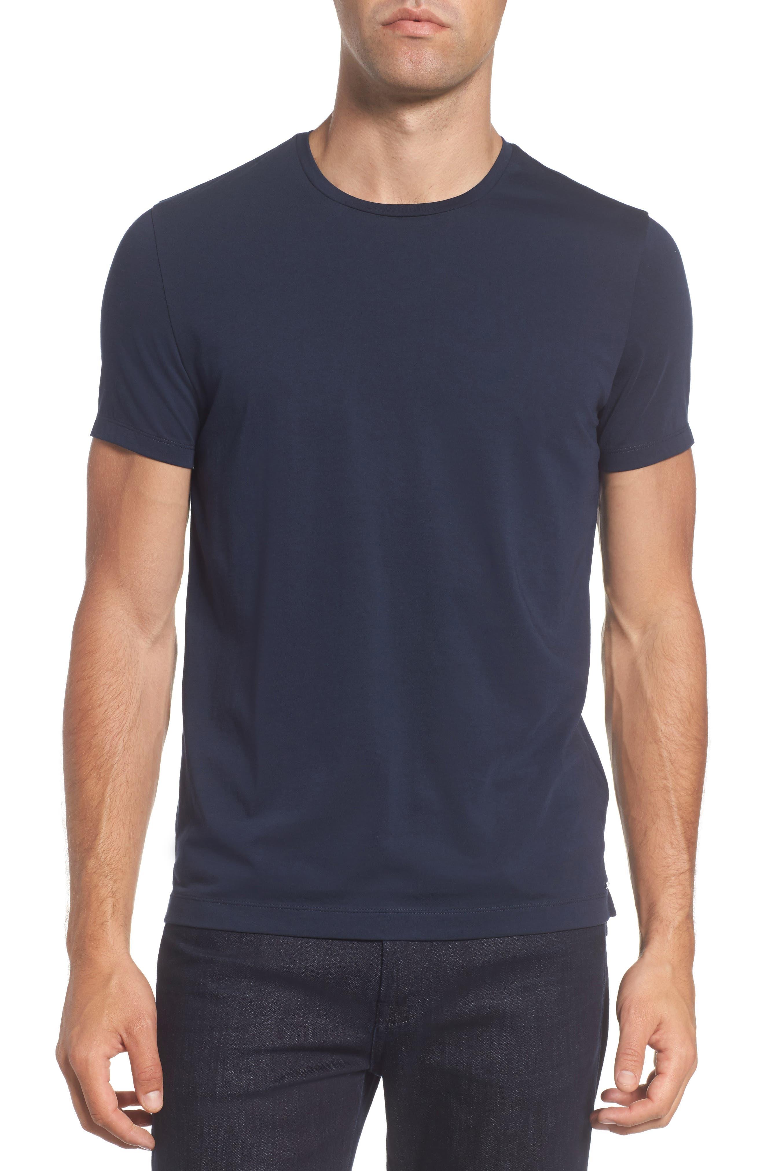 Tessler Crewneck T-Shirt,                             Main thumbnail 1, color,                             Black