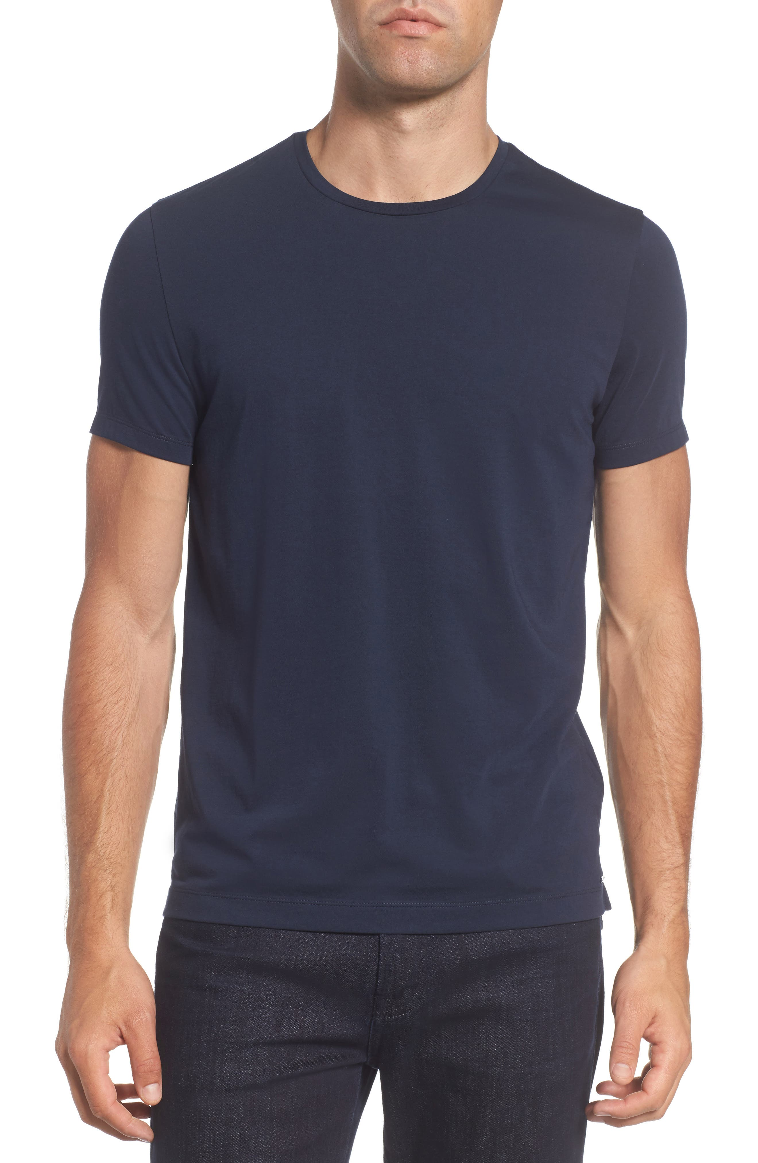 Tessler Crewneck T-Shirt,                         Main,                         color, Black