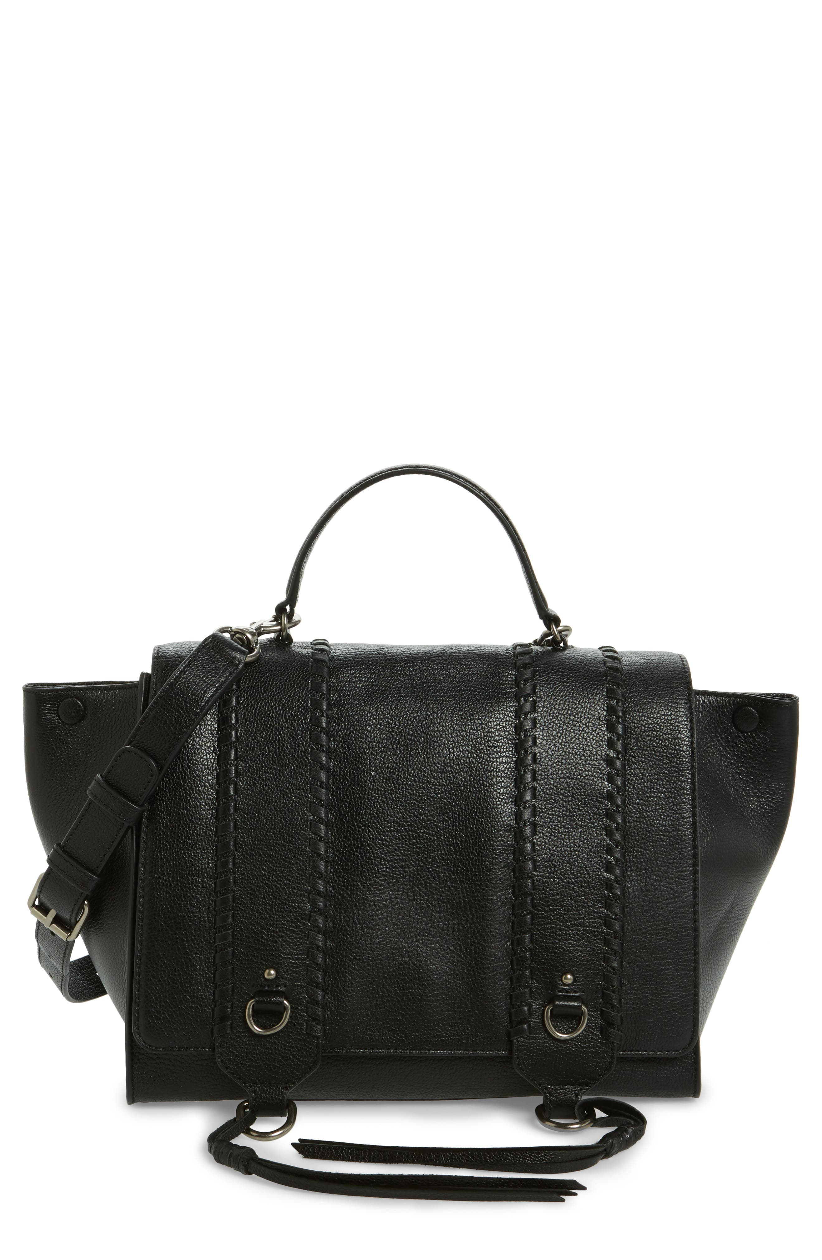 Alternate Image 1 Selected - Rebecca Minkoff Paige Leather Satchel