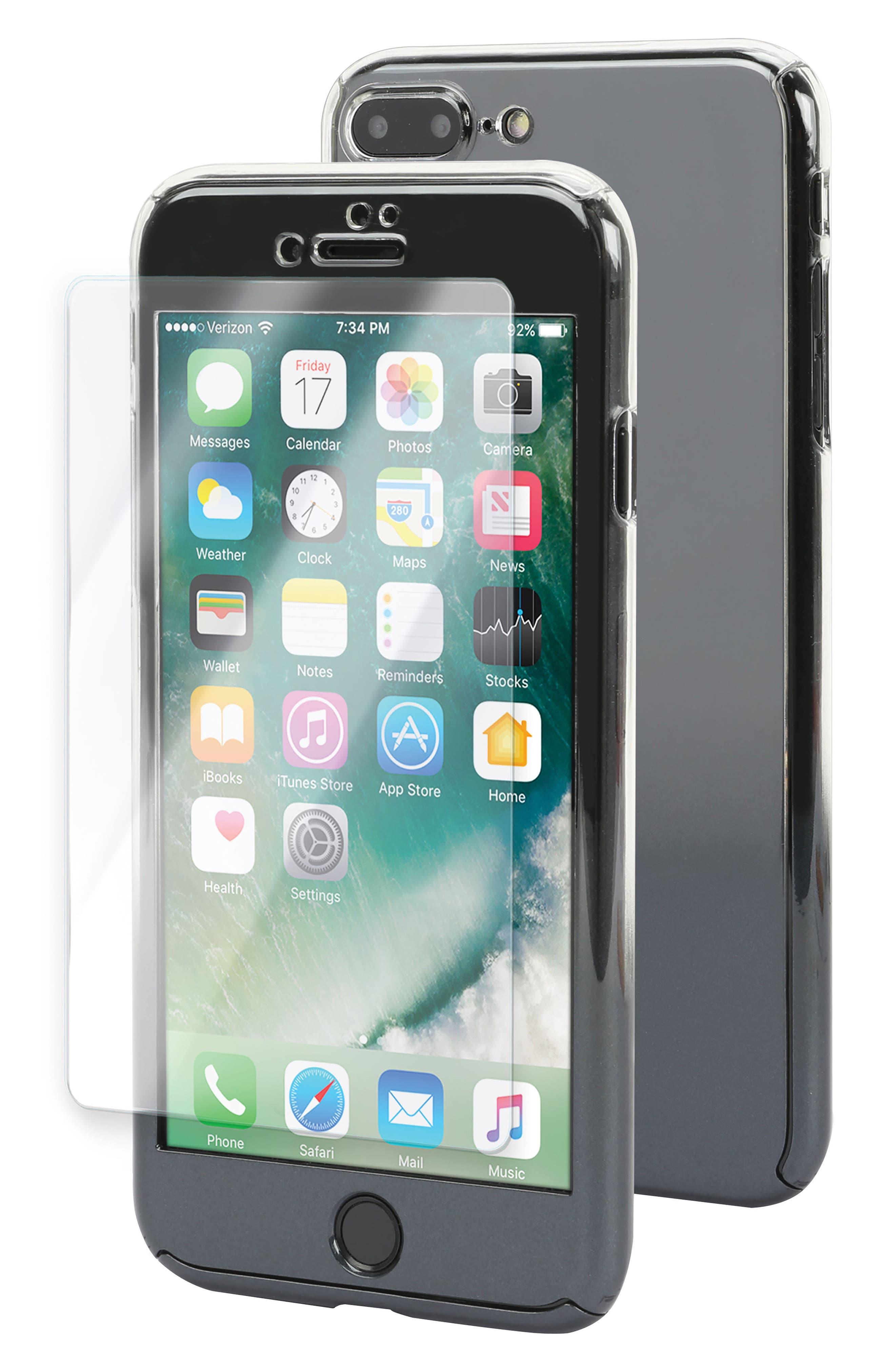 iHome Ombré SlimShield 360 iPhone 7/8 Plus Case