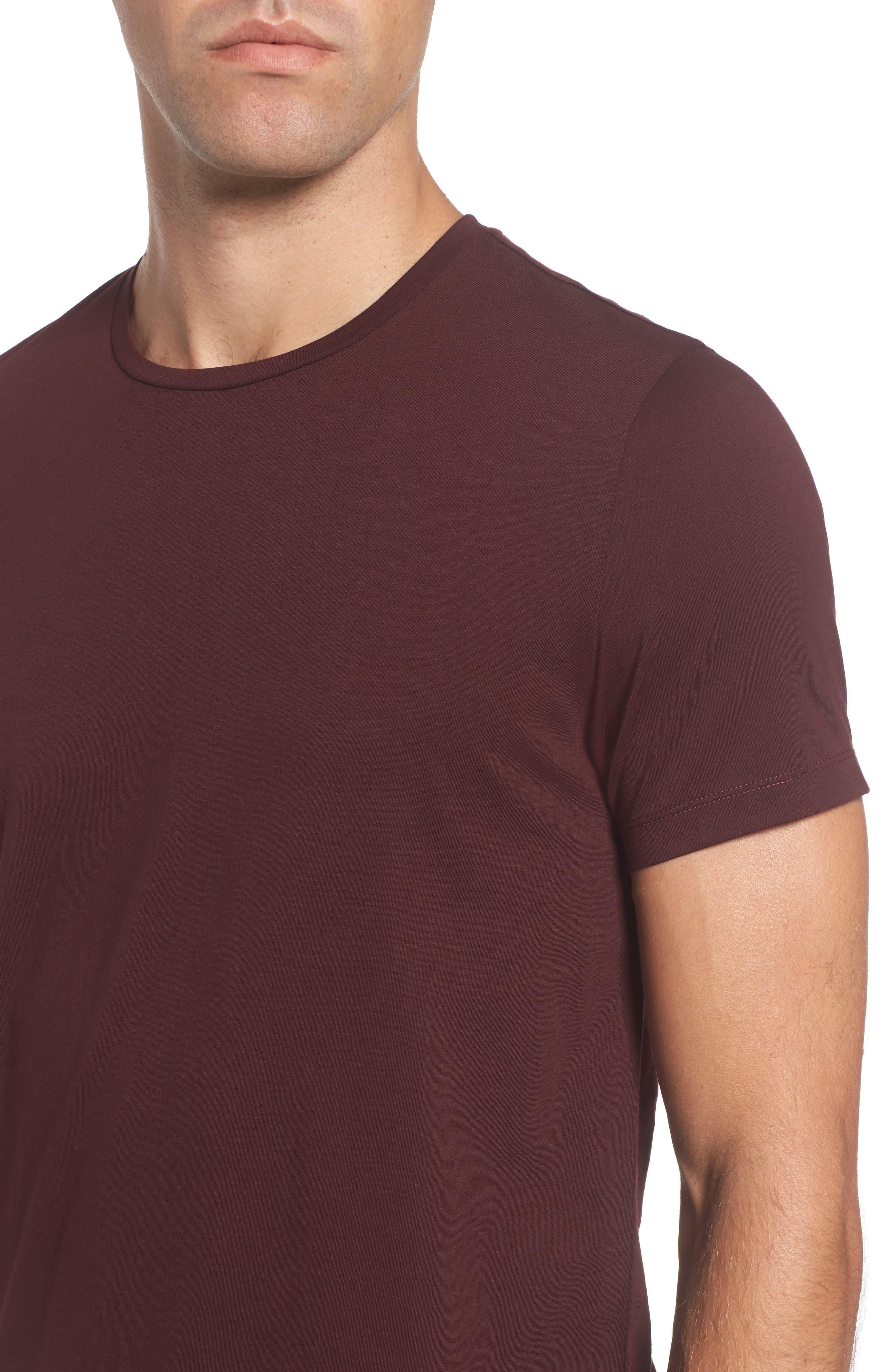 Tessler Crewneck T-Shirt,                             Alternate thumbnail 9, color,                             Black