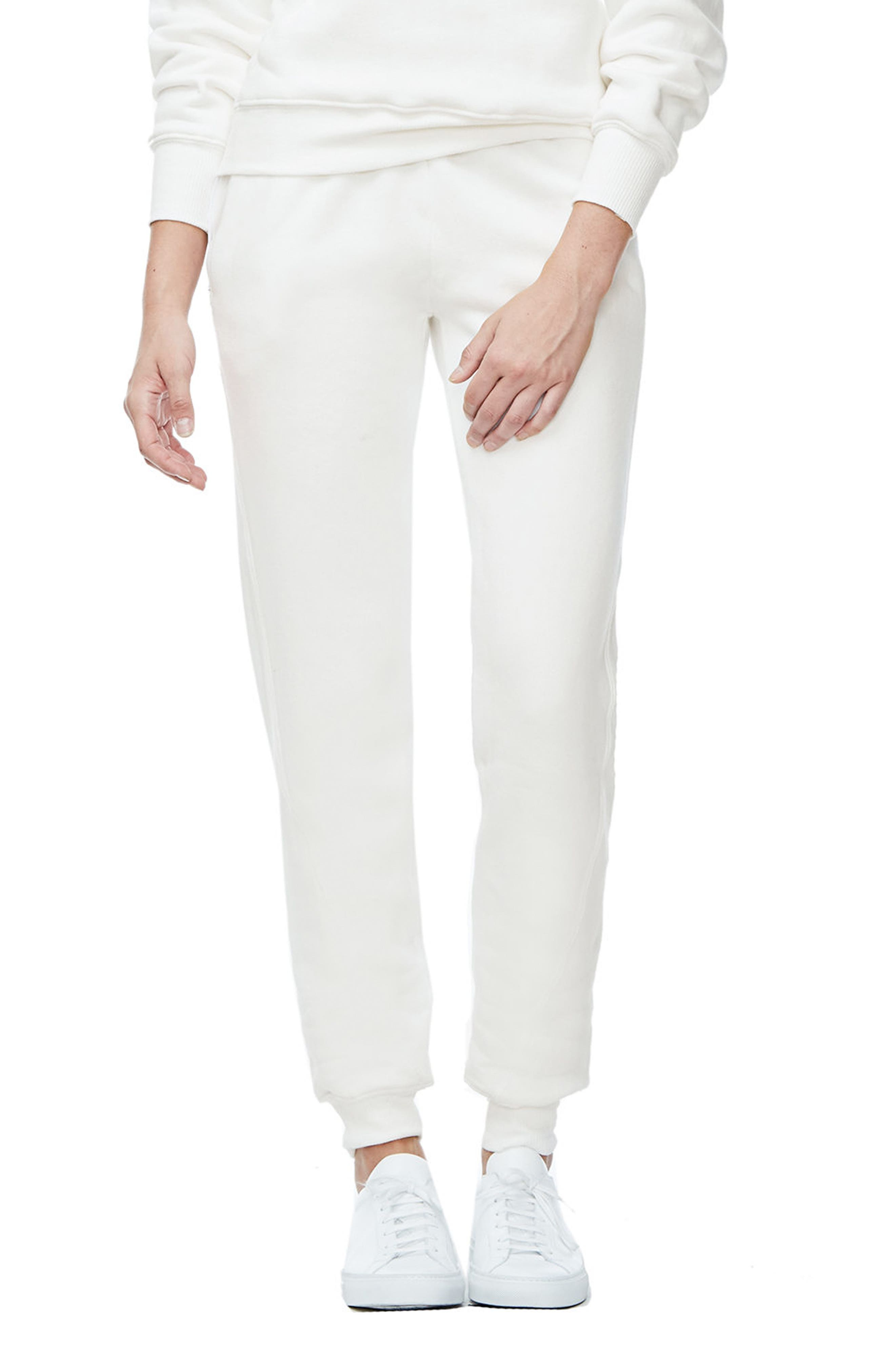 Good Sweats The Twisted Seam Pants,                             Main thumbnail 1, color,                             Off White