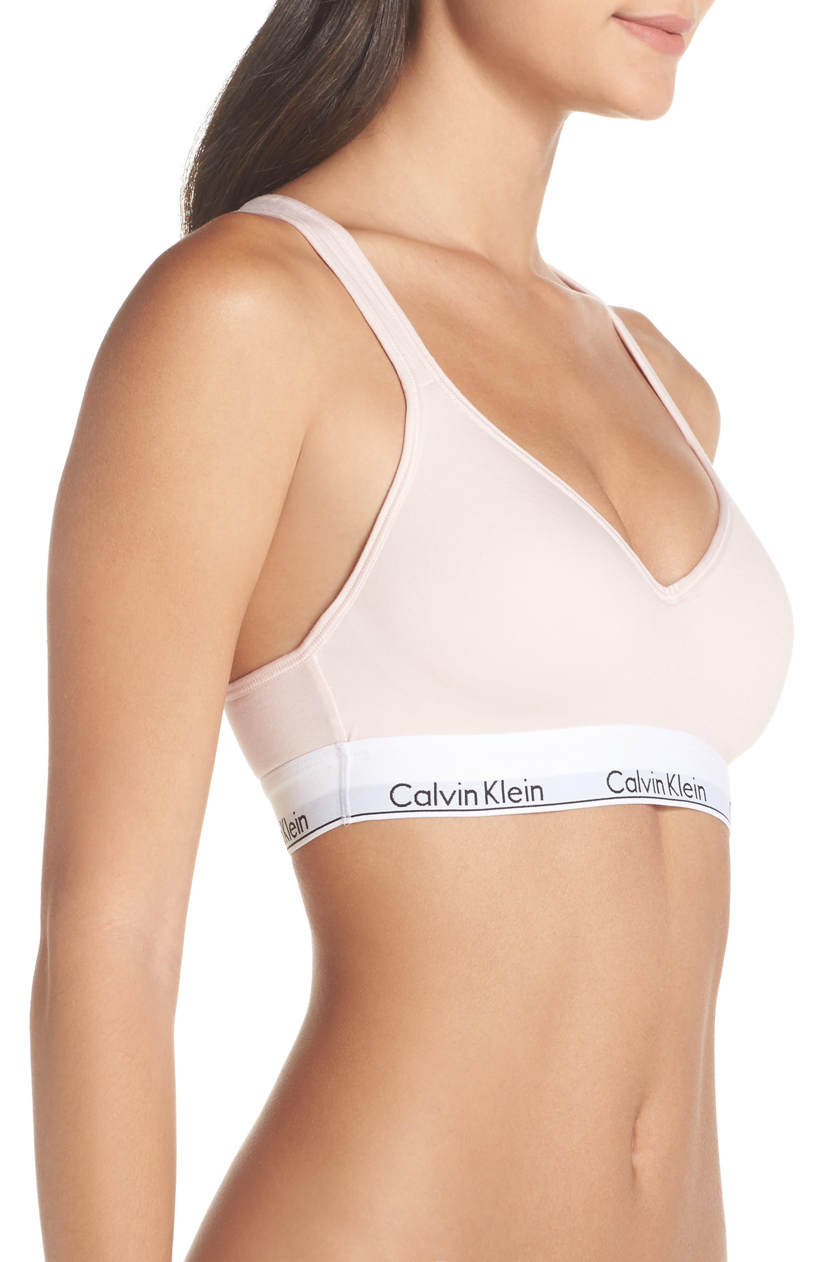 Alternate Image 3  - Calvin Klein Modern Cotton Bra