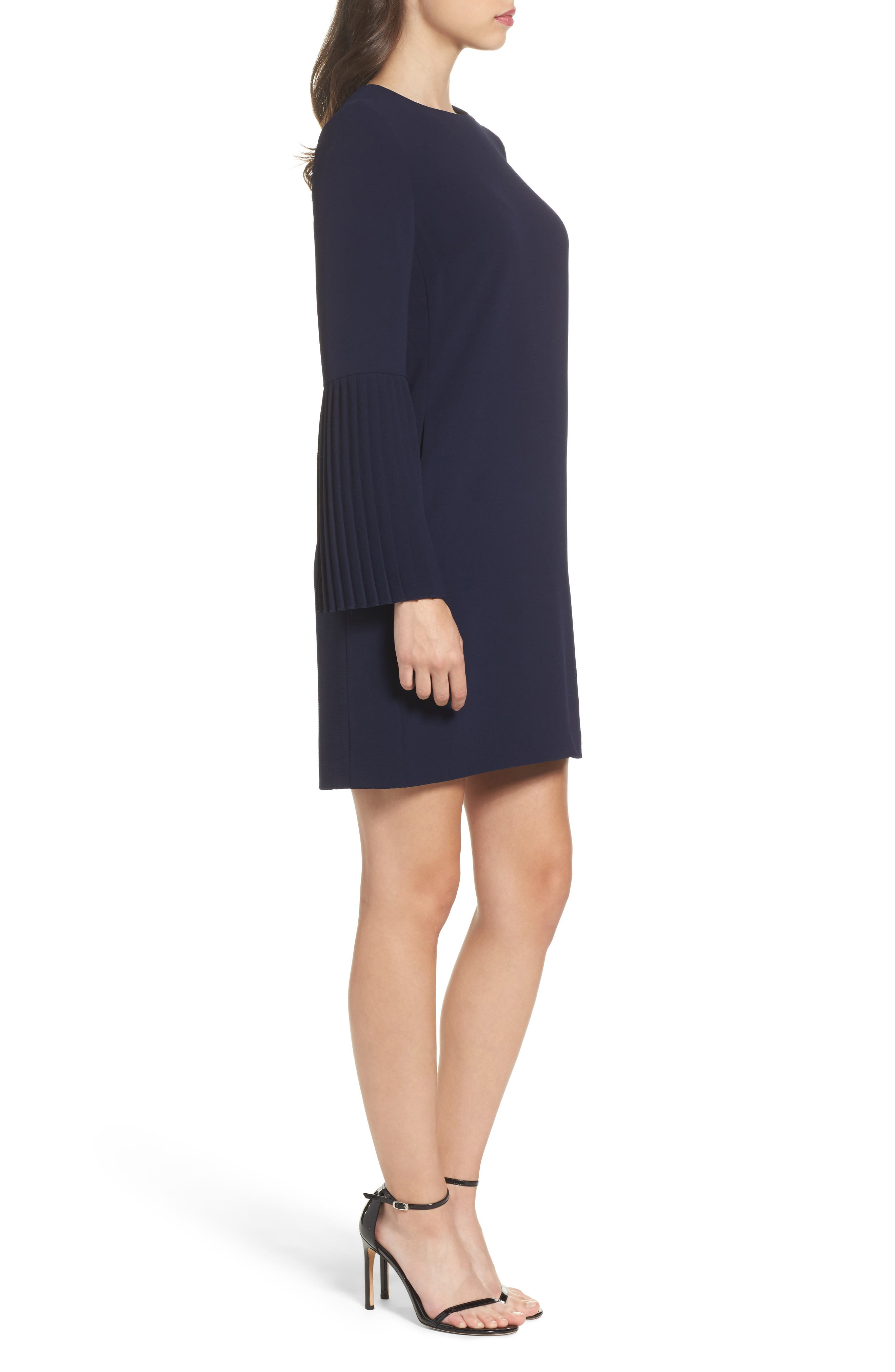 Alternate Image 3  - Maggy London Bell Sleeve Shift Dress