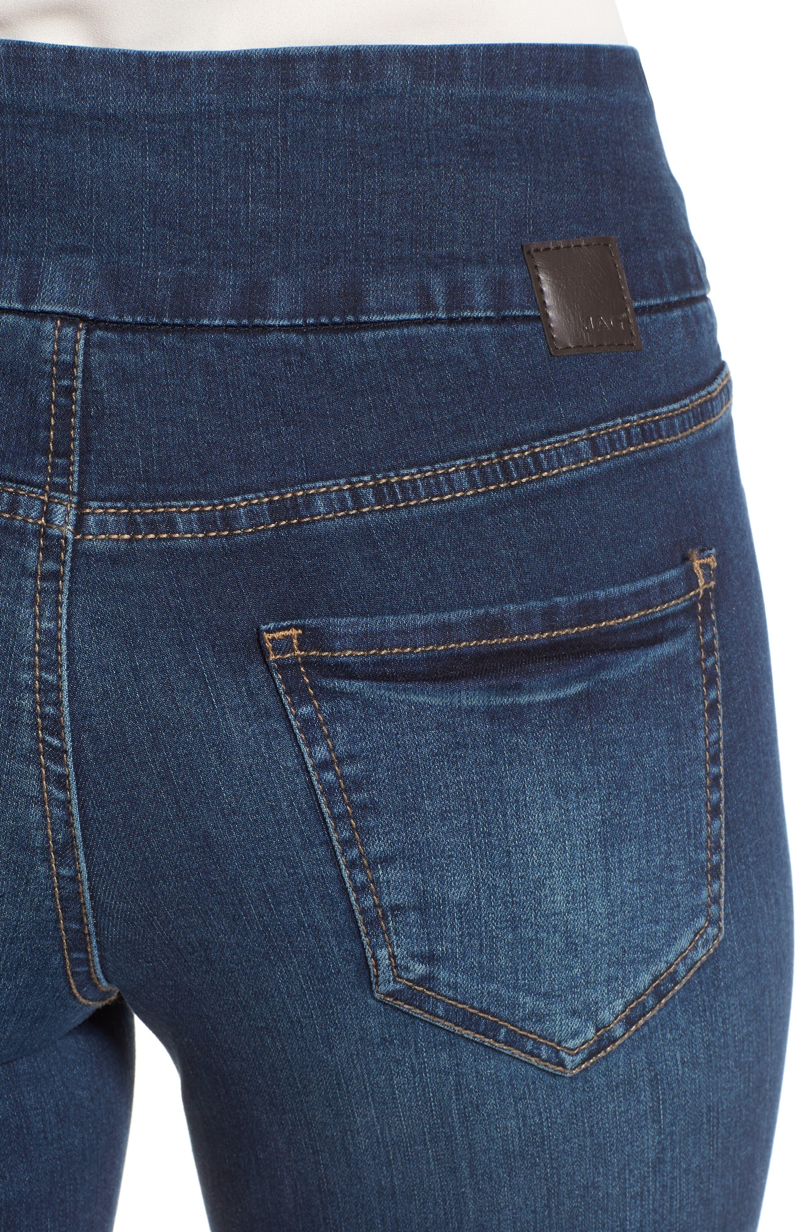 Alternate Image 4  - Jag Jeans Nora Stretch Skinny Jeans (Regular & Petite)