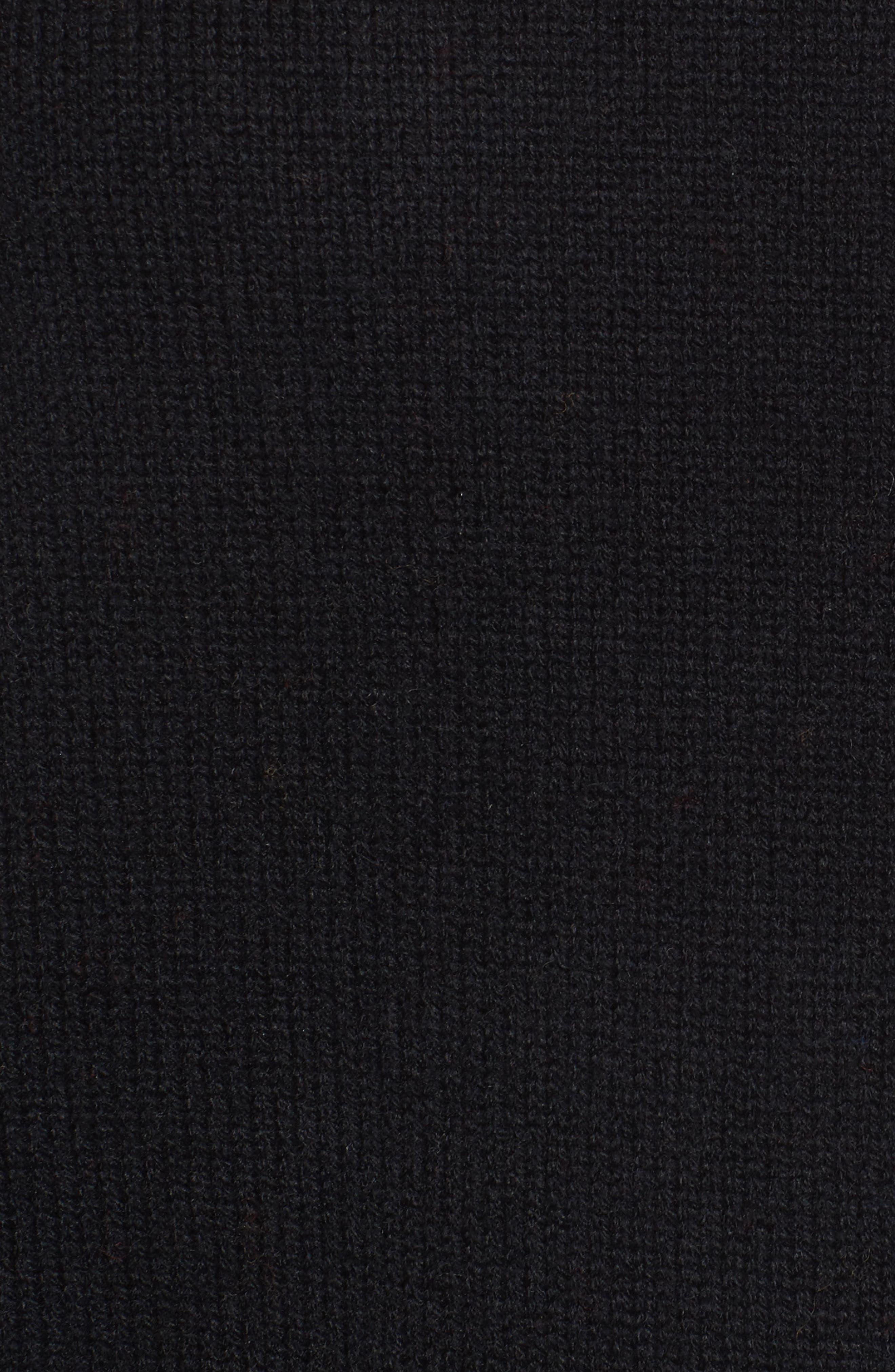 Spirit Sweater,                             Alternate thumbnail 5, color,                             Black/ Gold