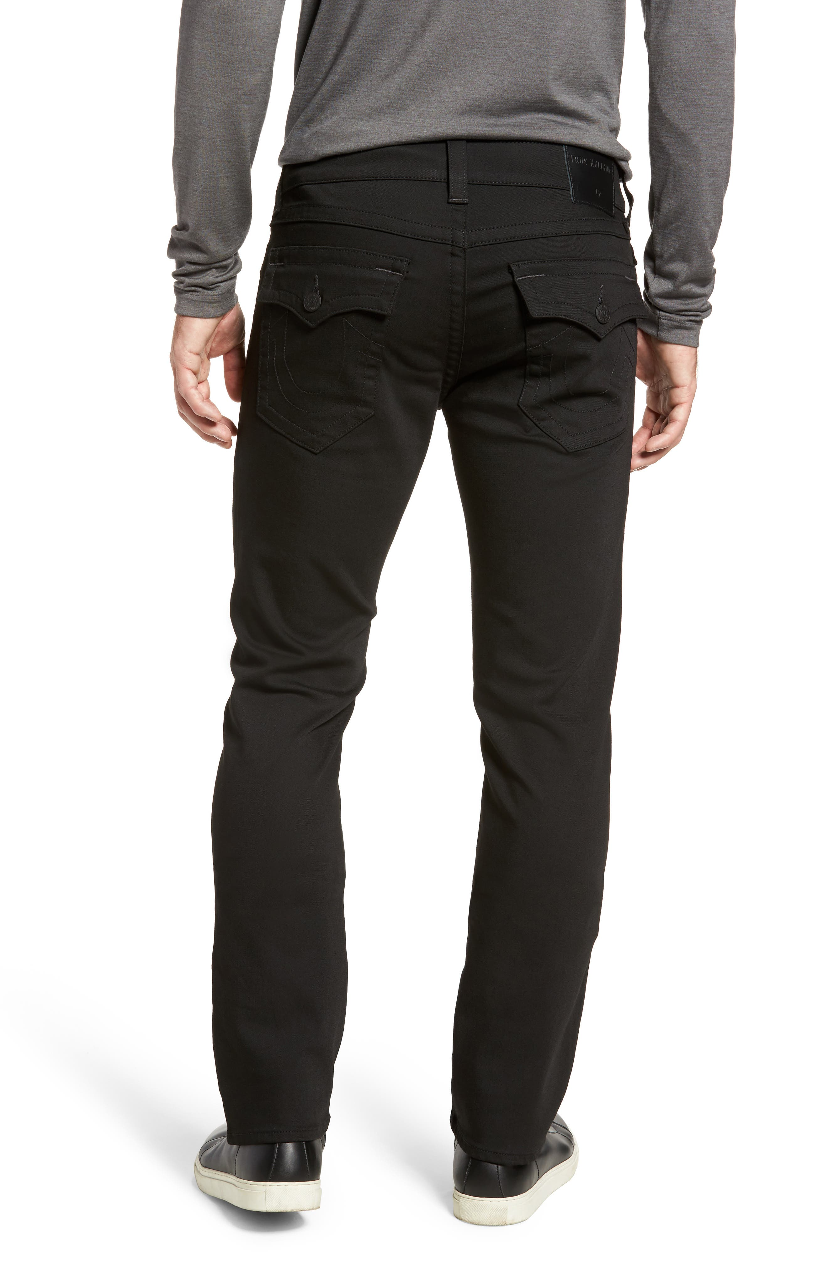 Alternate Image 2  - True Religion Brand Jeans Geno Straight Fit Jeans (Nightfall)