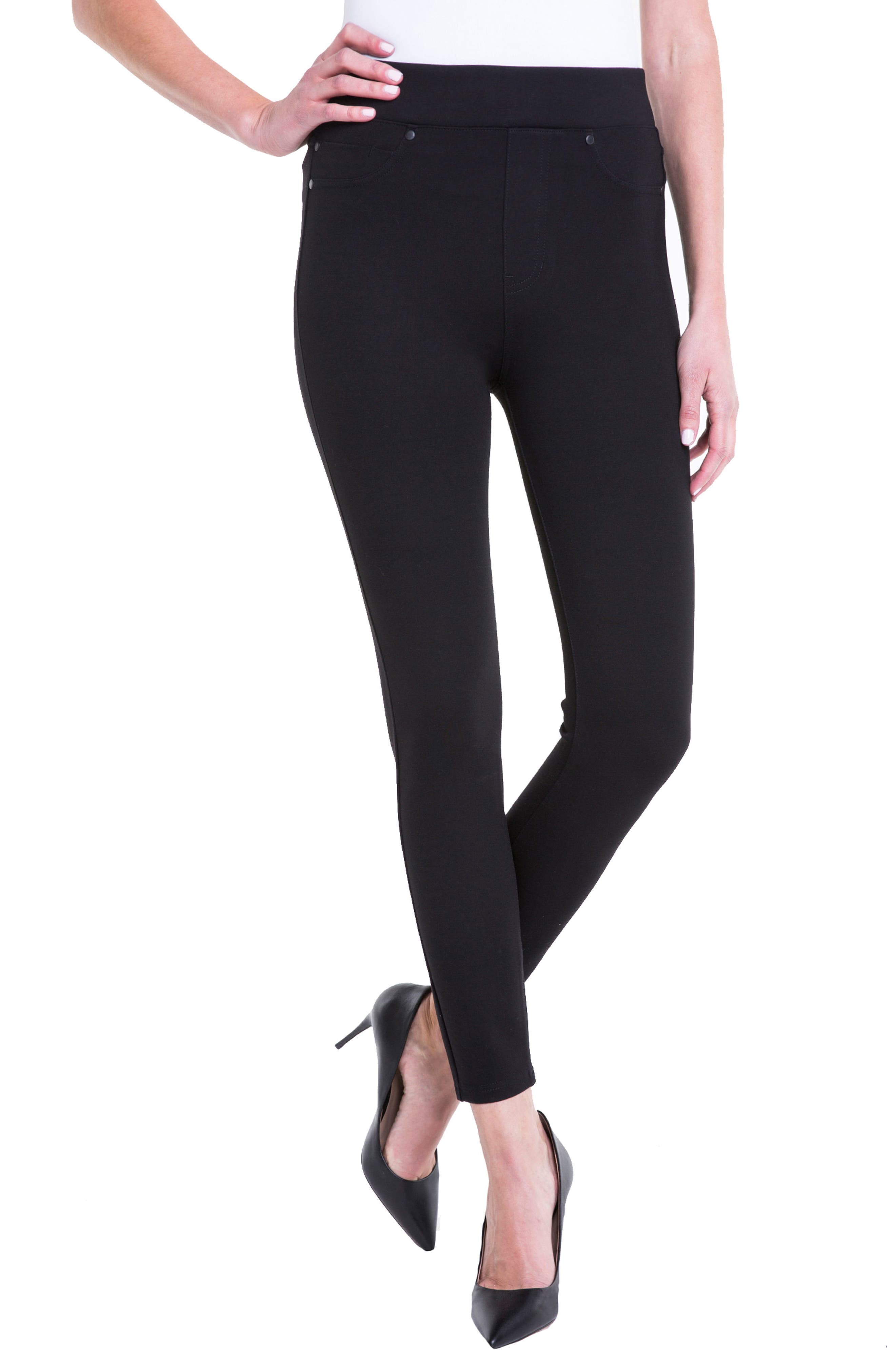 Alternate Image 4  - Liverpool Jeans Company Bridget High Waist Pull-On Ankle Leggings