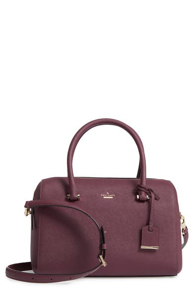 Main Image - kate spade new york mega cameron street - lane leather satchel