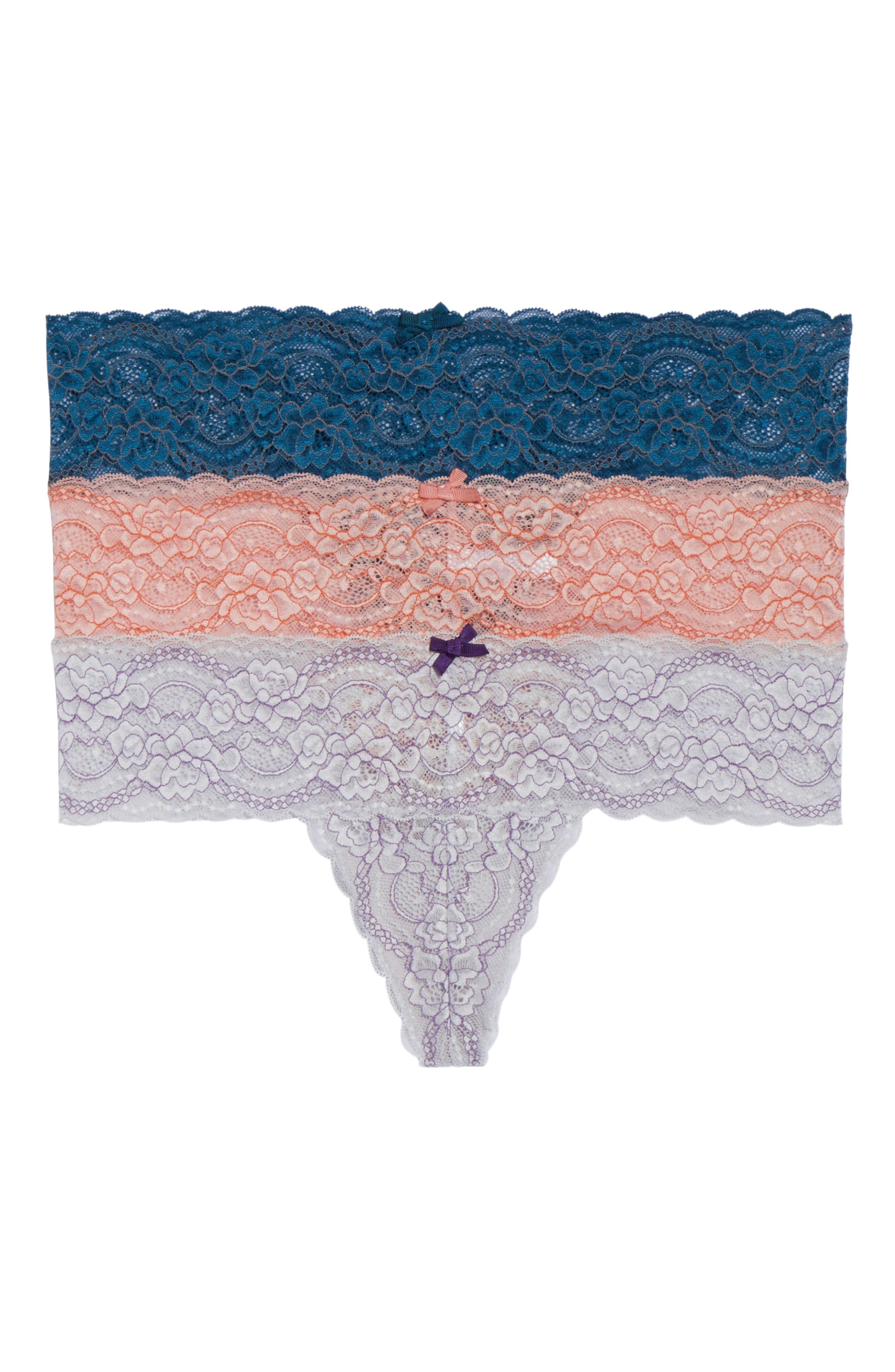 Skarlett Blue Obsessed Thong (3-Pack)