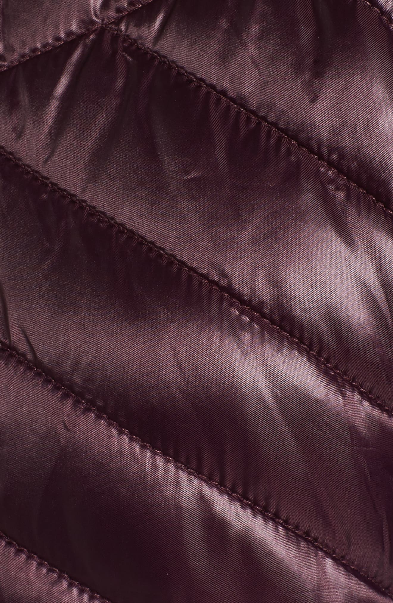 Insulated Anorak Jacket,                             Alternate thumbnail 5, color,                             Wine