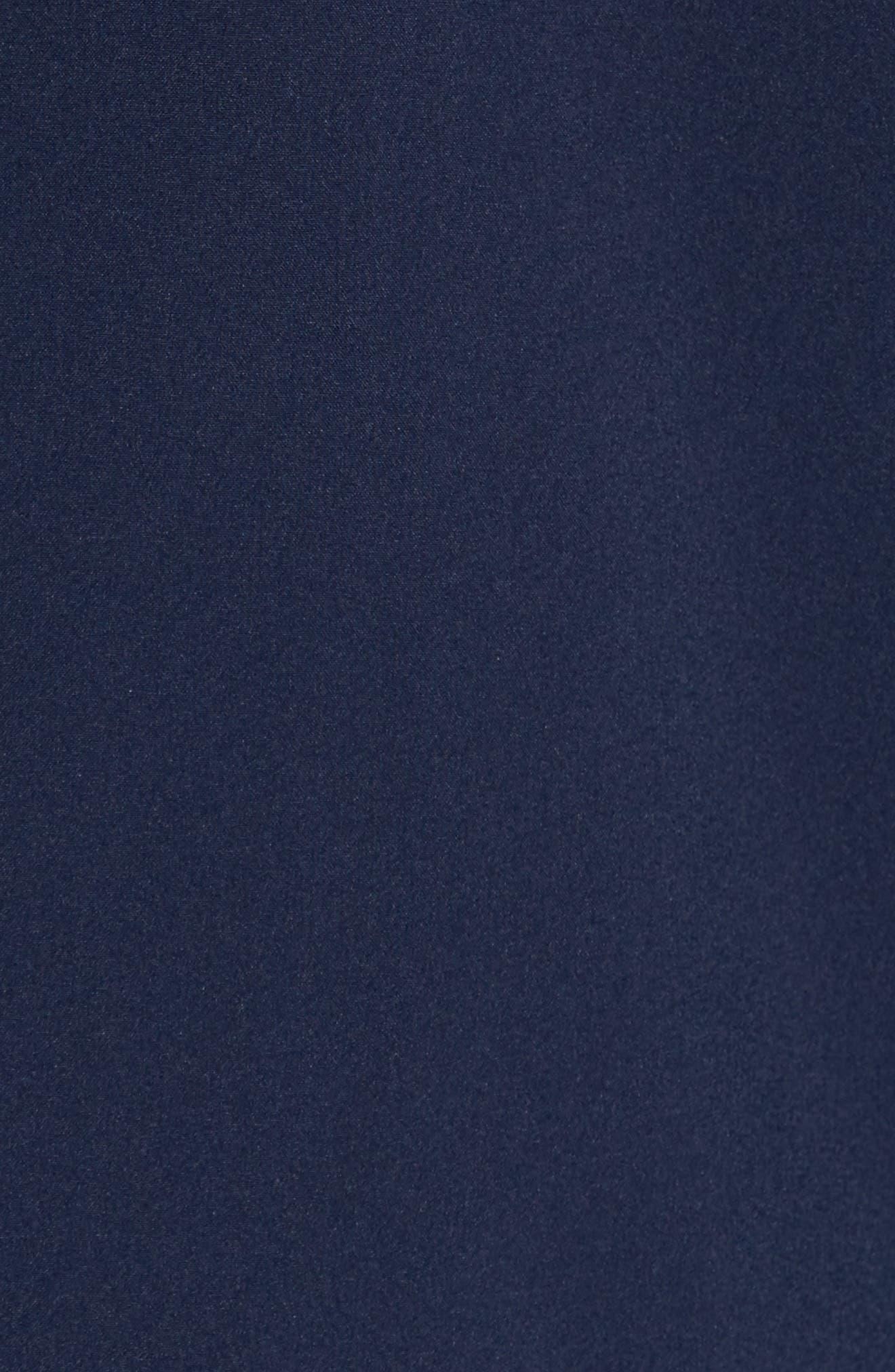 Technical Longline Jacket,                             Alternate thumbnail 6, color,                             Navy