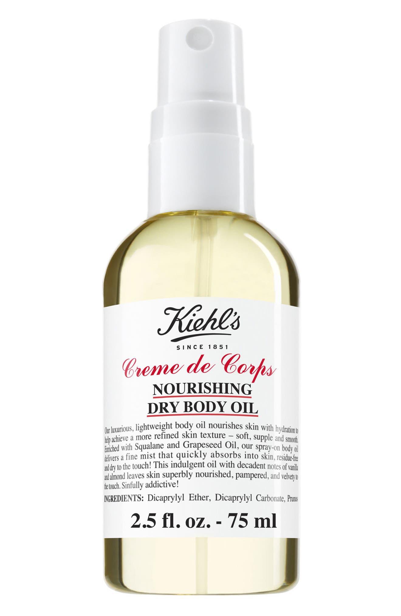 Alternate Image 2  - Kiehl's Since 1851 Creme de Corps Nourishing Dry Body Oil